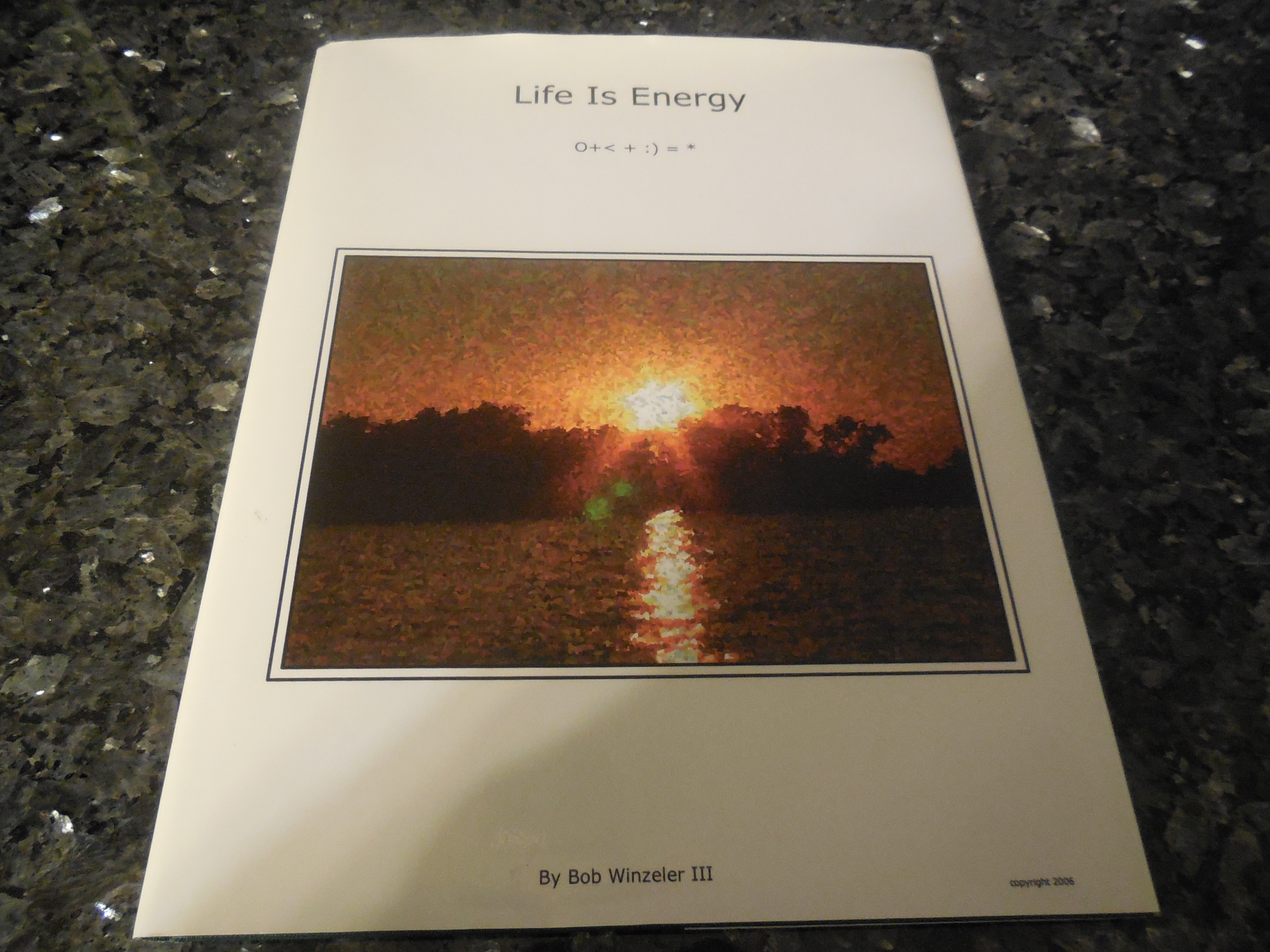 Image for Life Is Energy