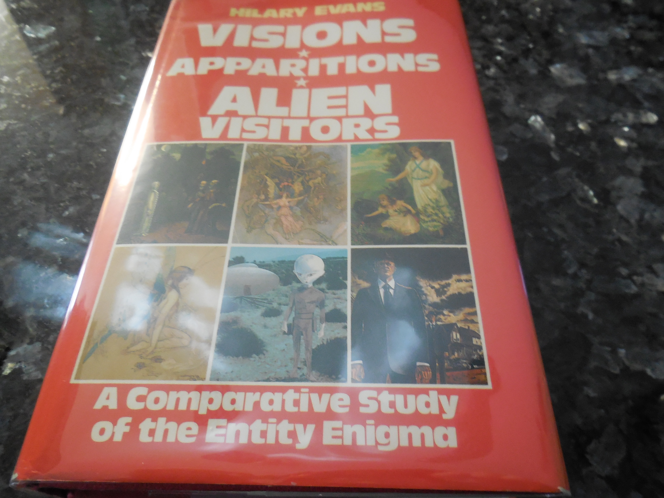 Image for Visions, Apparitions, Alien Visitors