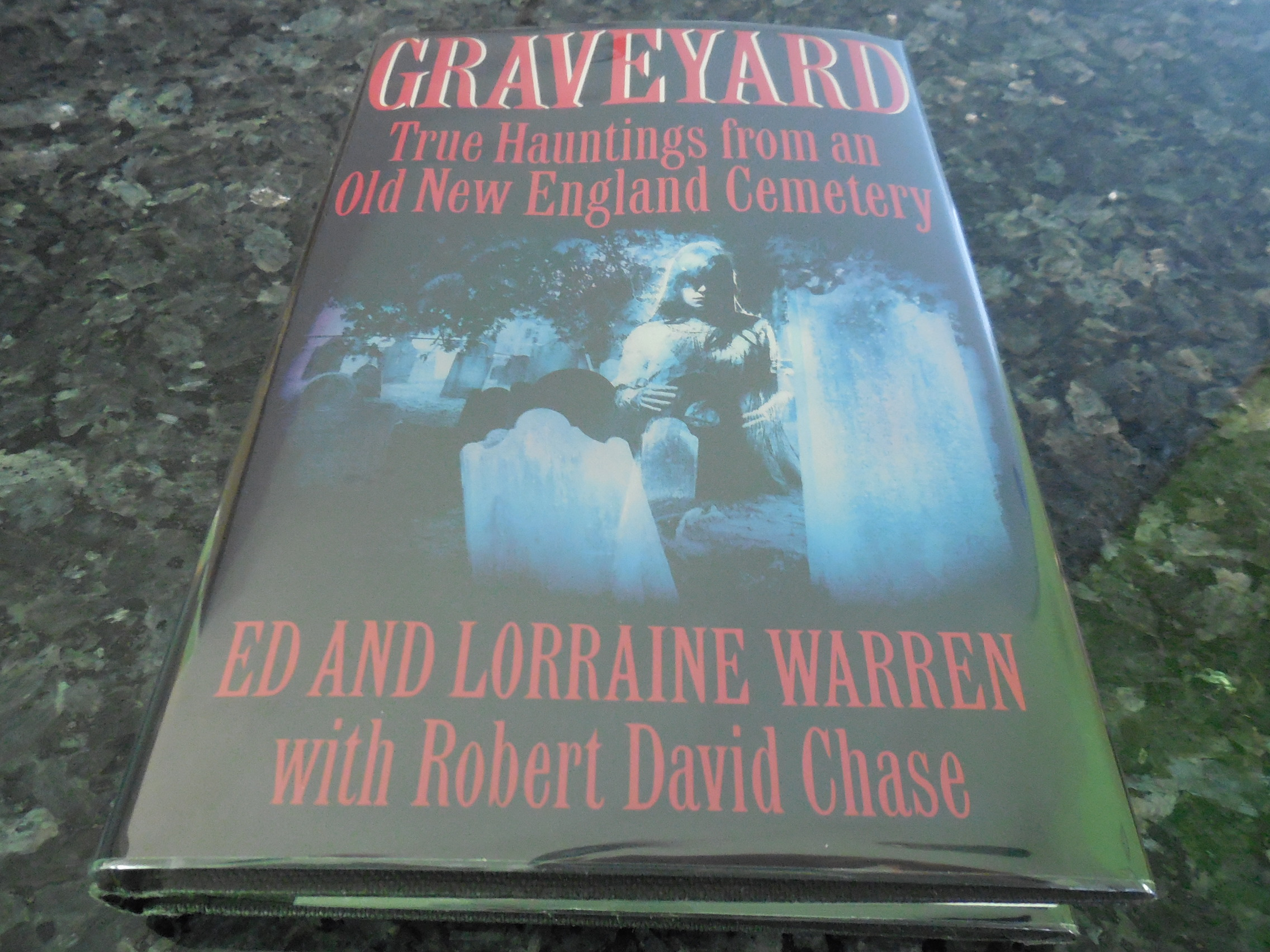 Image for Graveyard: True Hauntings from an Old New England Cemetery