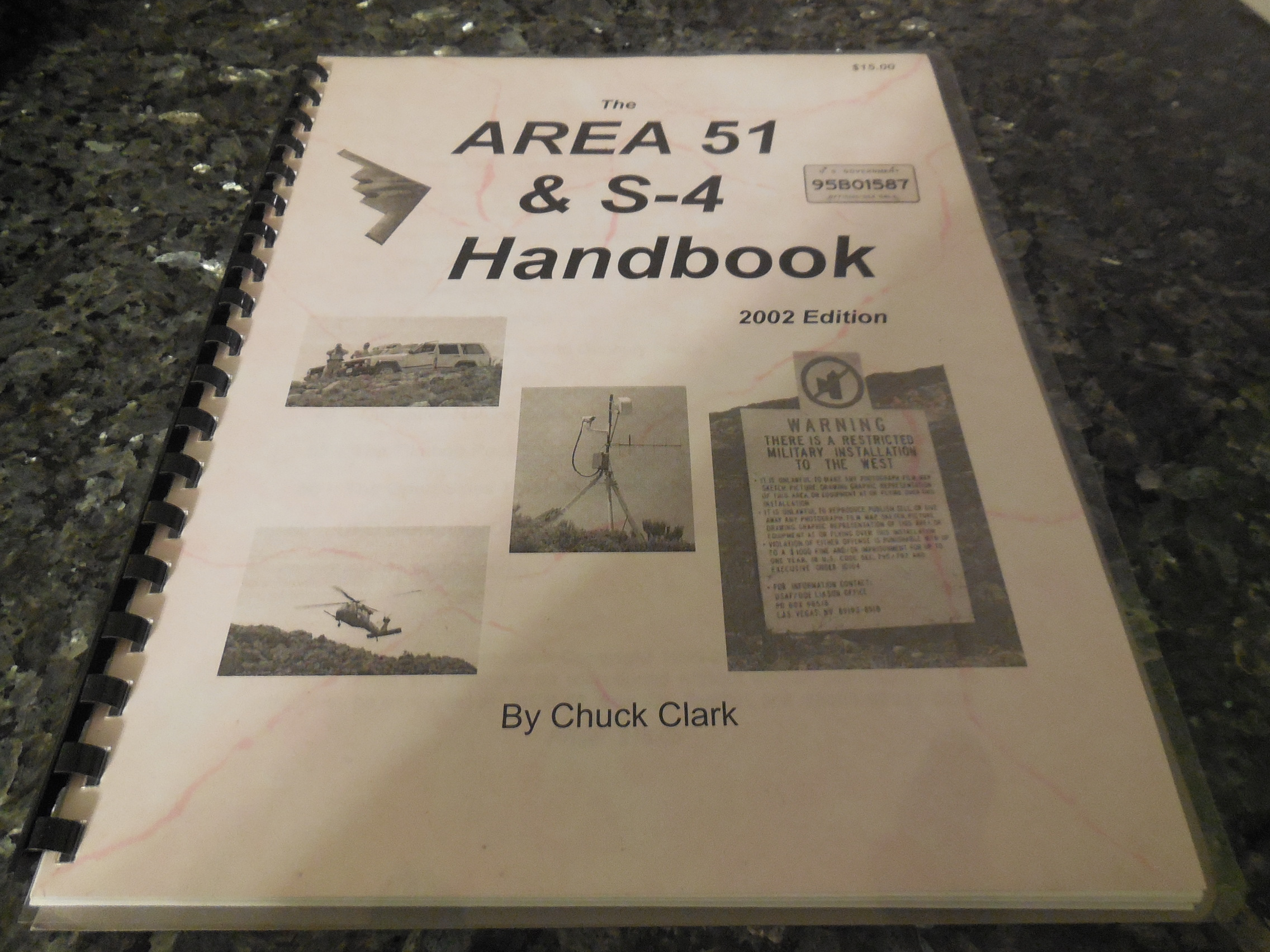 Image for Area 51 & S-4 Handbook