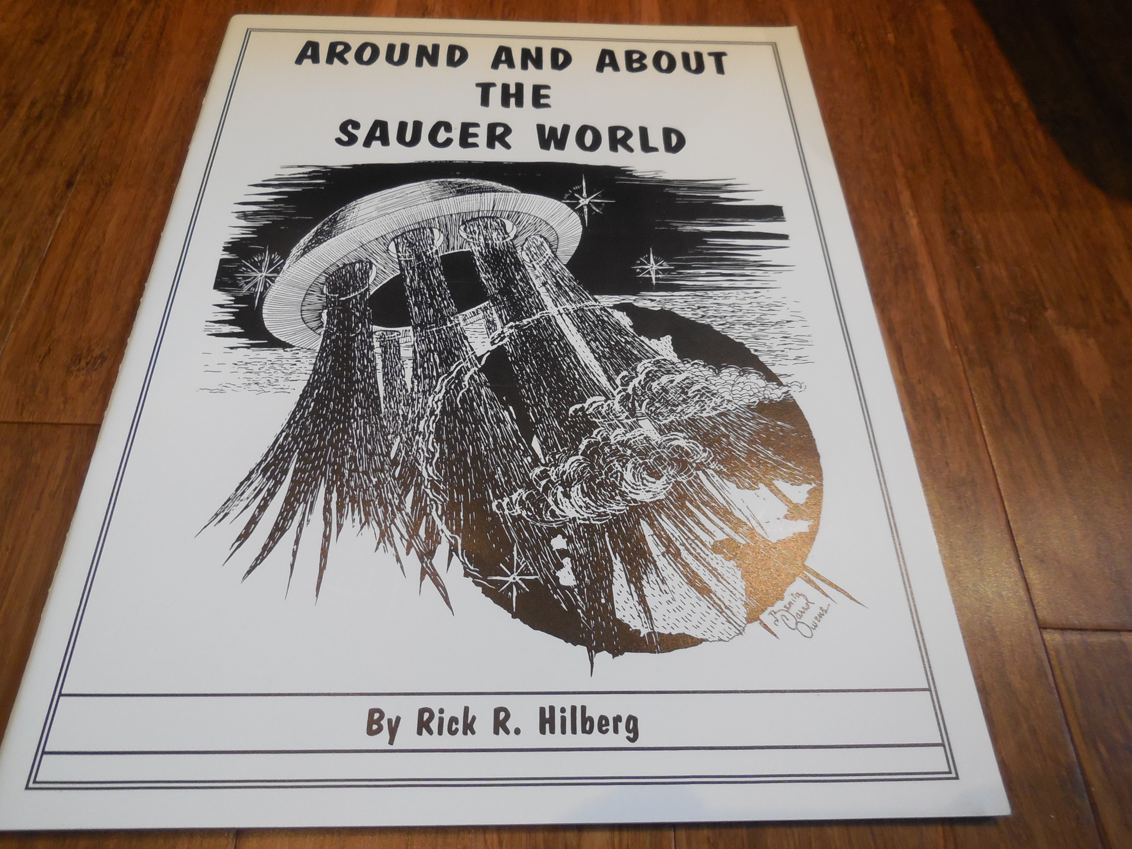 Image for Around and About the Saucer World