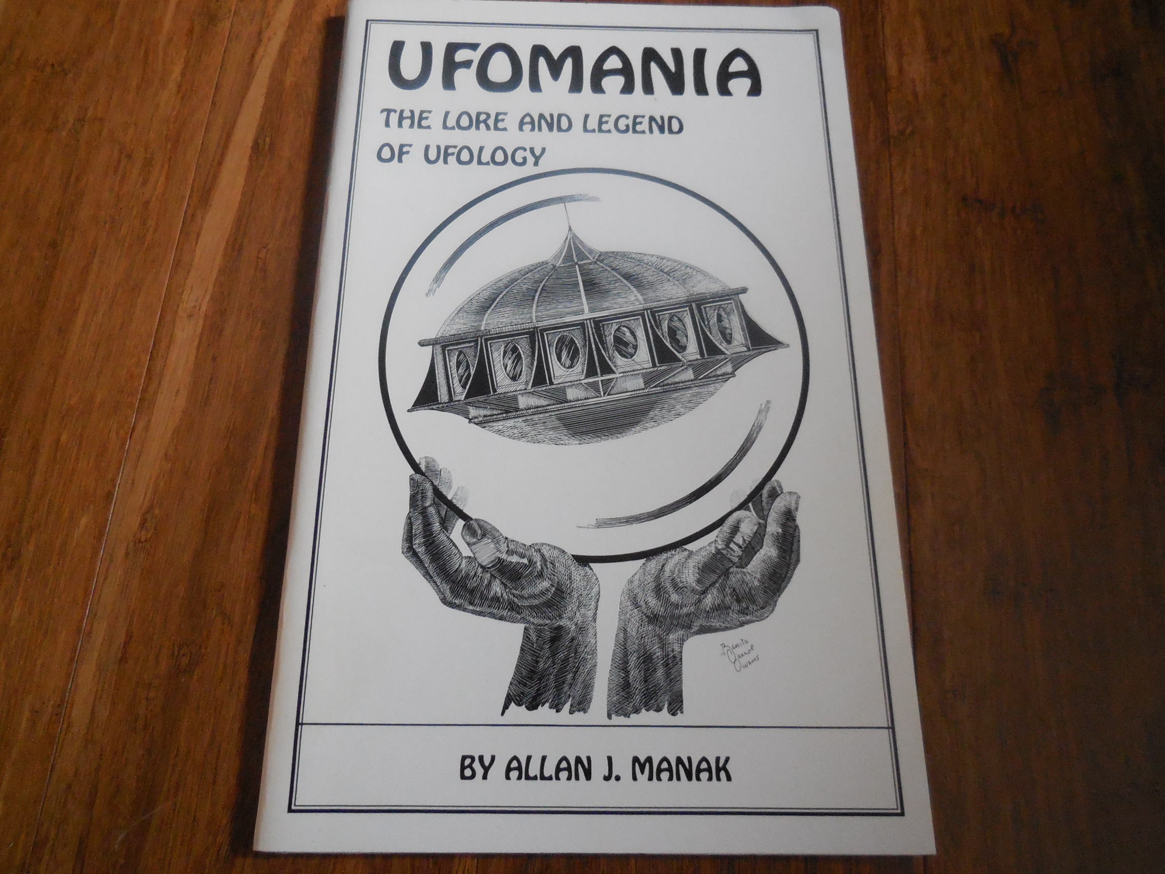 Image for UFOmania - The Lore and Legend of UFOlogy