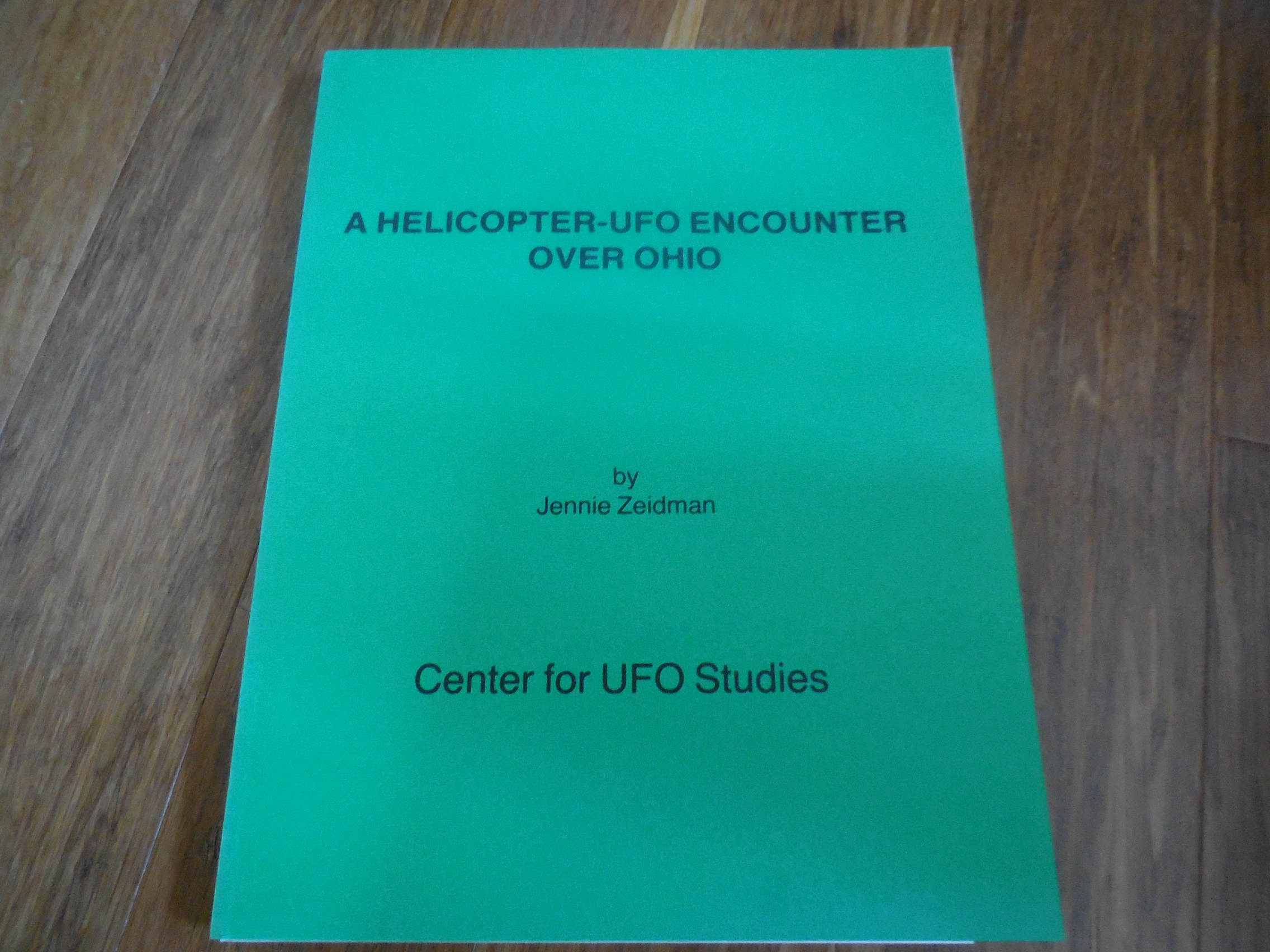 Image for A Helicopter-UFO Encounter Over Ohio