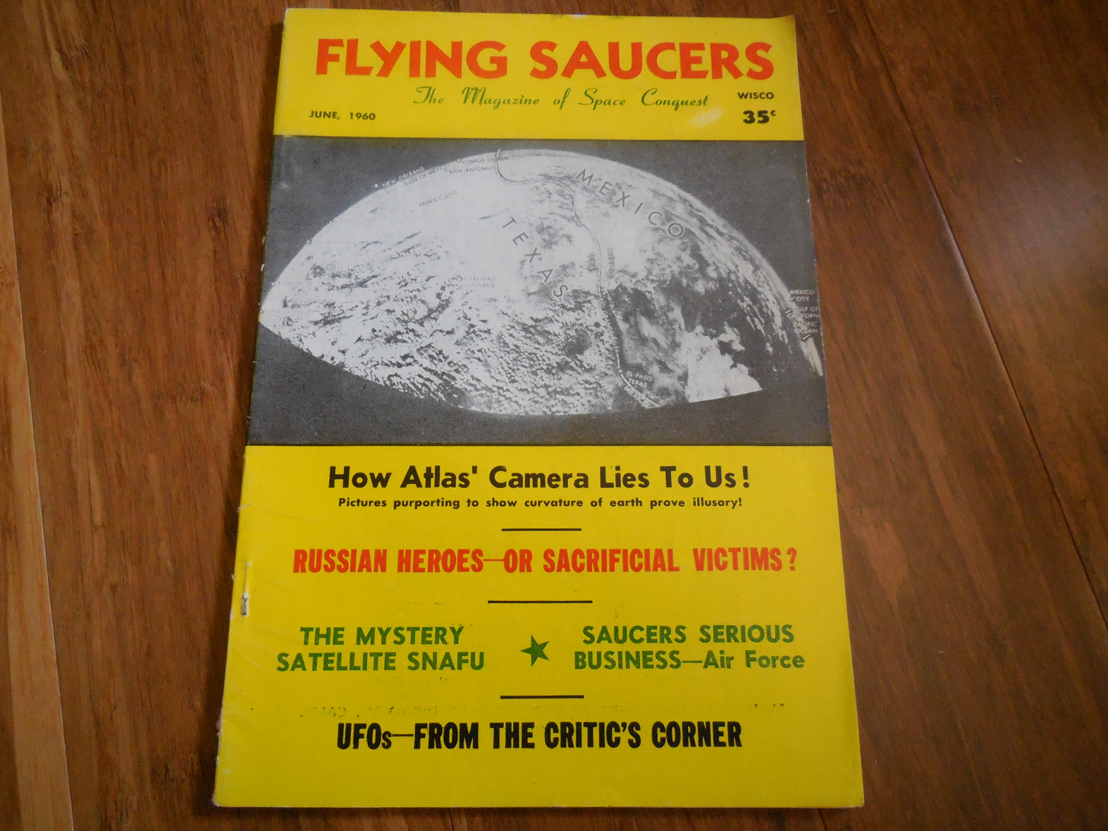 Image for Flying Saucers - The Magazine of  Space Conquest, June 1960