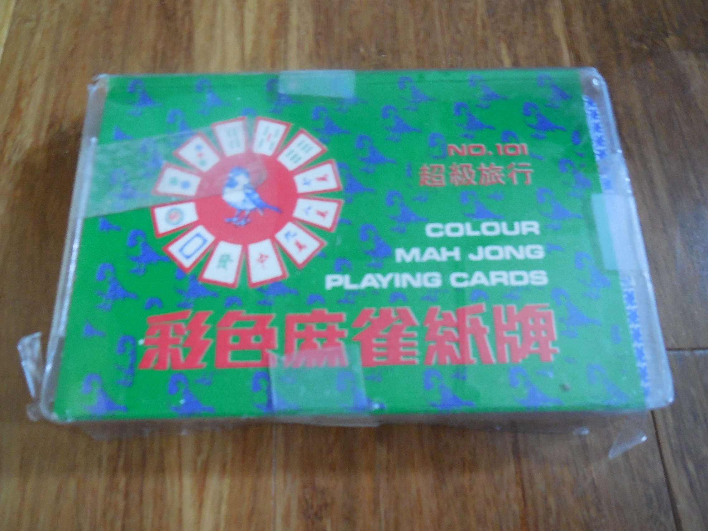 Image for Colour Mah Jong Playing Cards (No. 101)