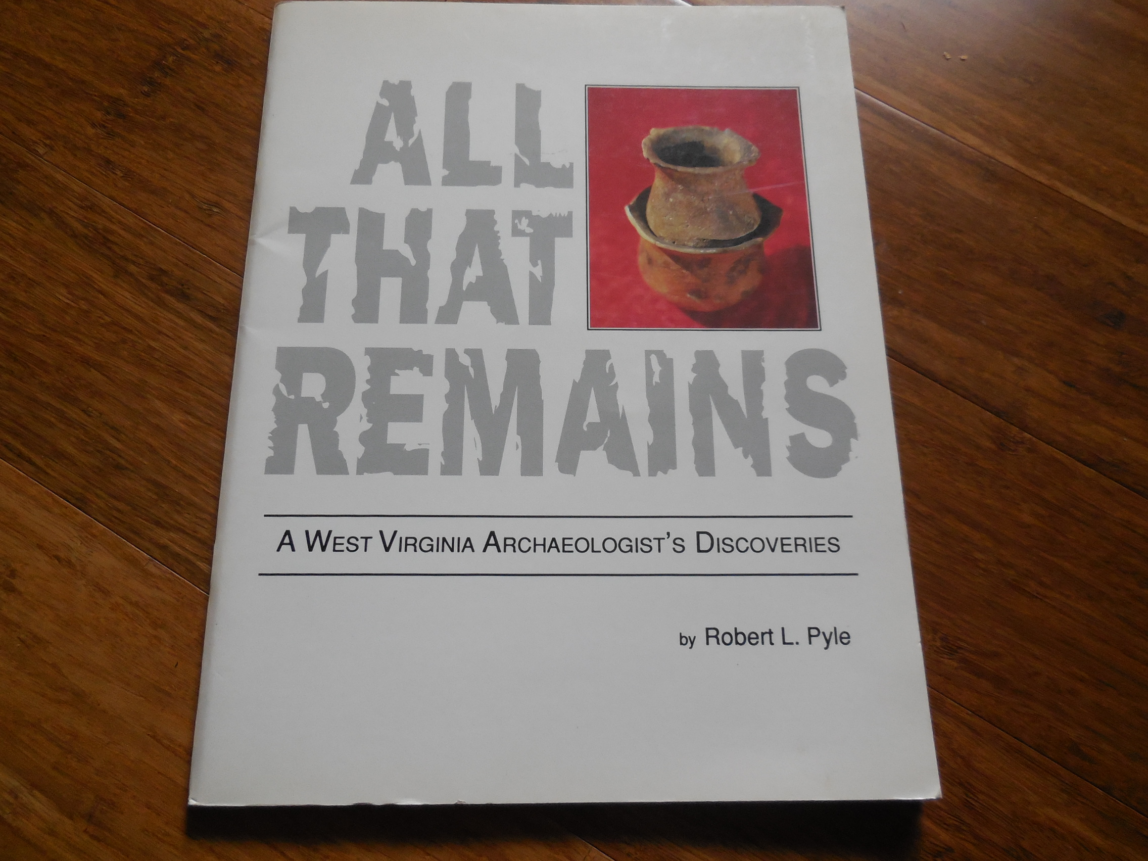Image for All That Remains - A West Virginia Archaeologist's Discoveries