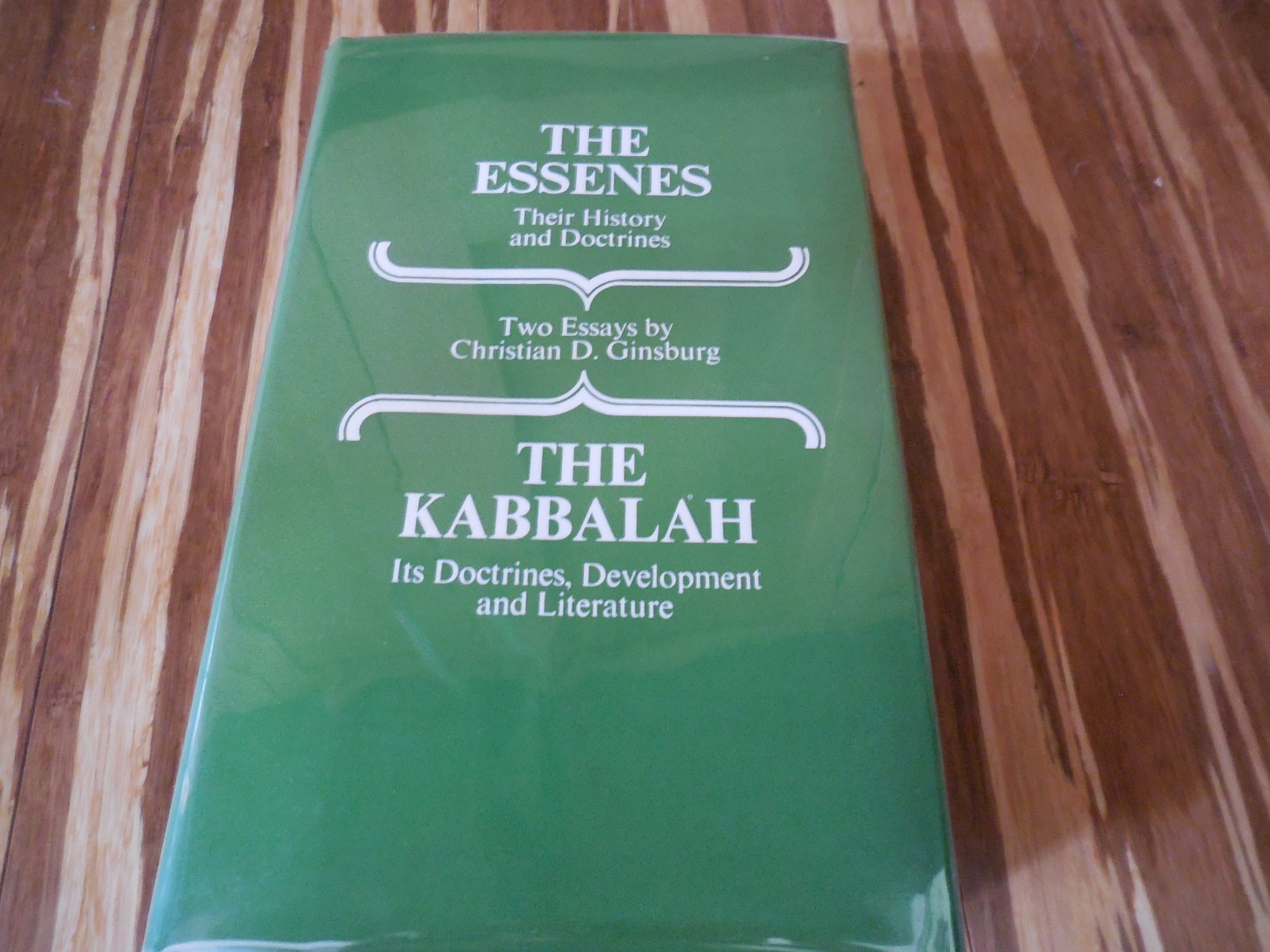 Image for The Essenes - Their History and  Doctrines / The Kabbalah - Its Doctrines, Development and Literature