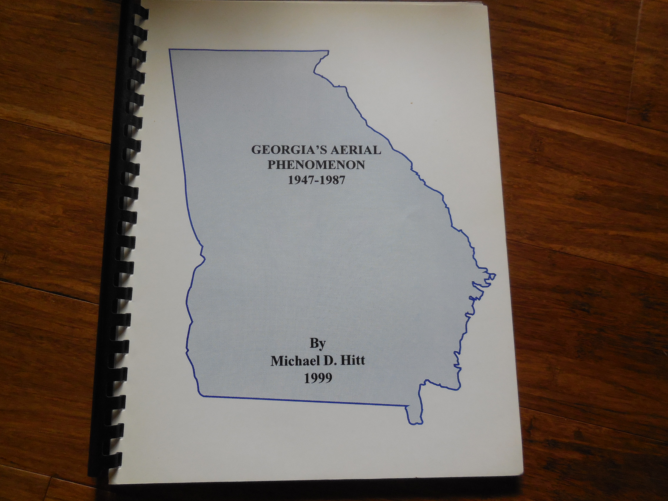 Image for Georgia's Aerial Phenomena 1947-1987