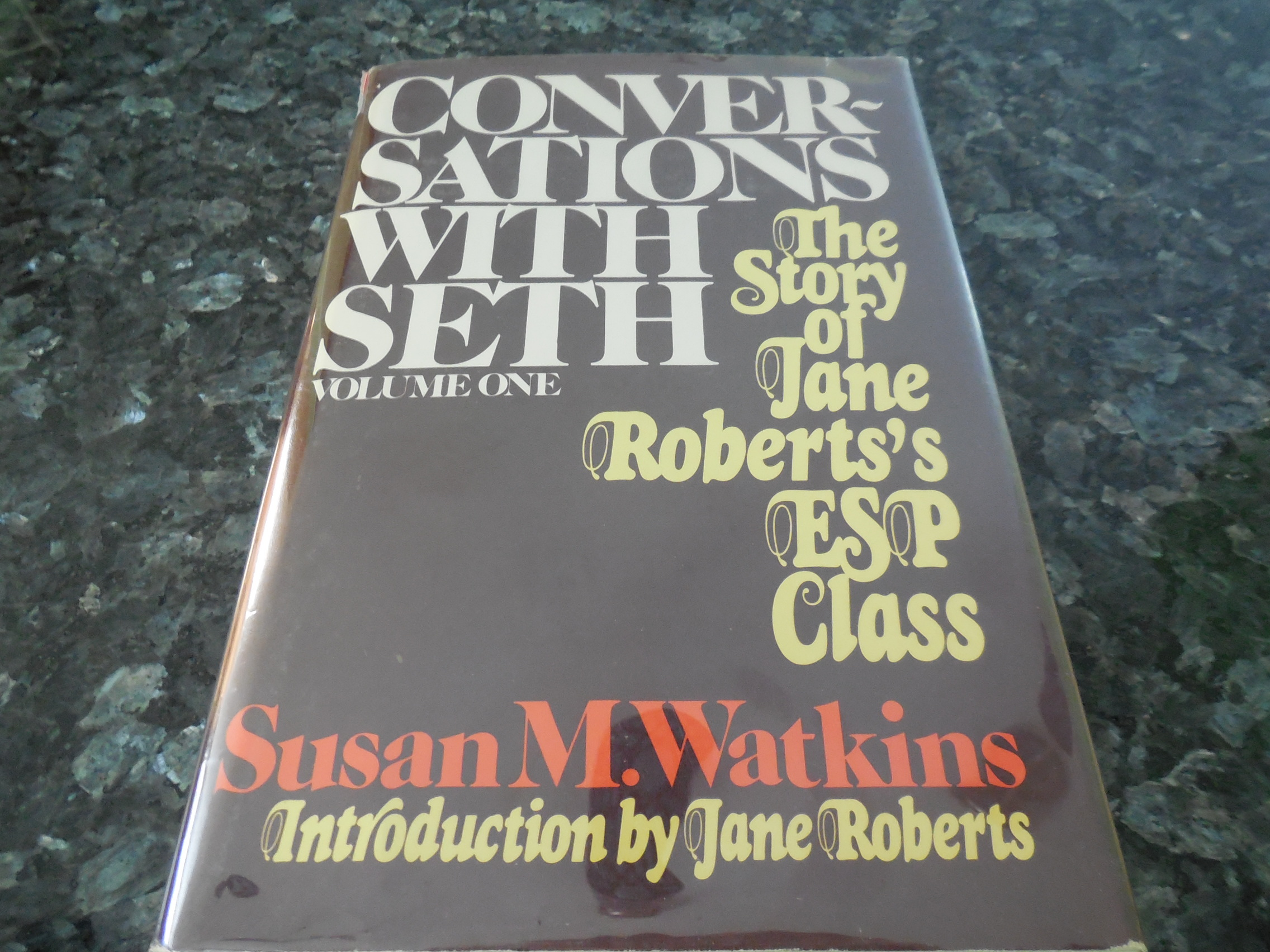 Image for Conversations With Seth, Volume One: The Story of Jane Roberts's ESP Class