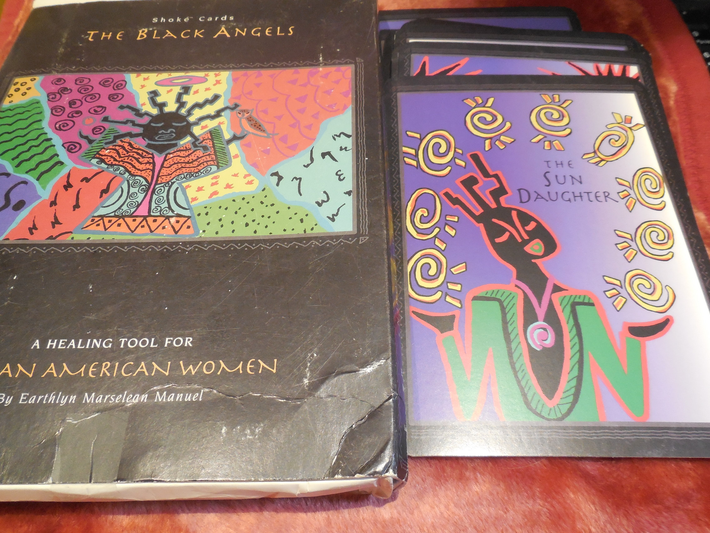 Image for The Black Angels: A Healing Tool for African American Women with Book (Shoke Cards)
