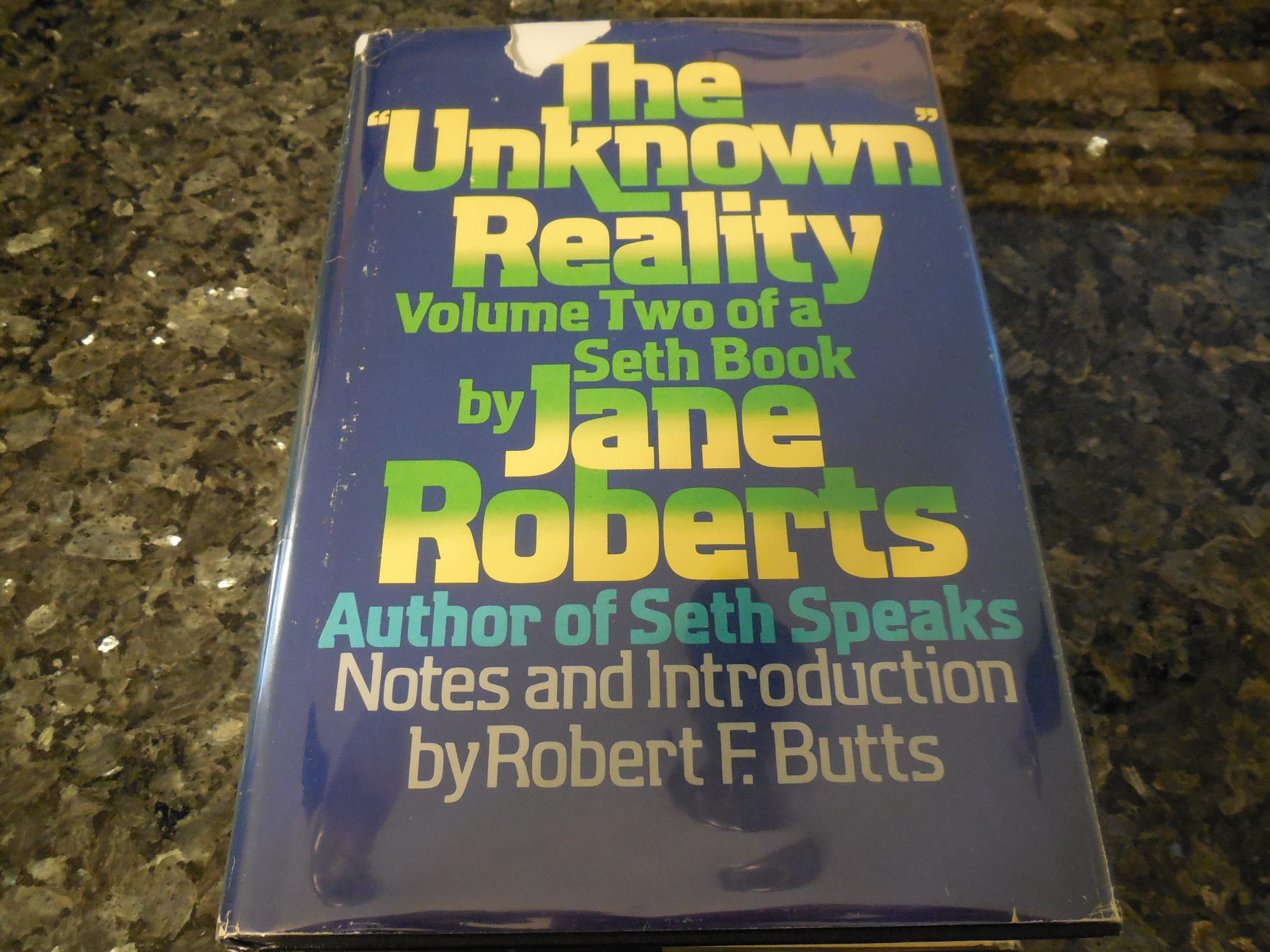 "Image for The ""Unknown"" Reality, Vol. 2: A Seth Book"