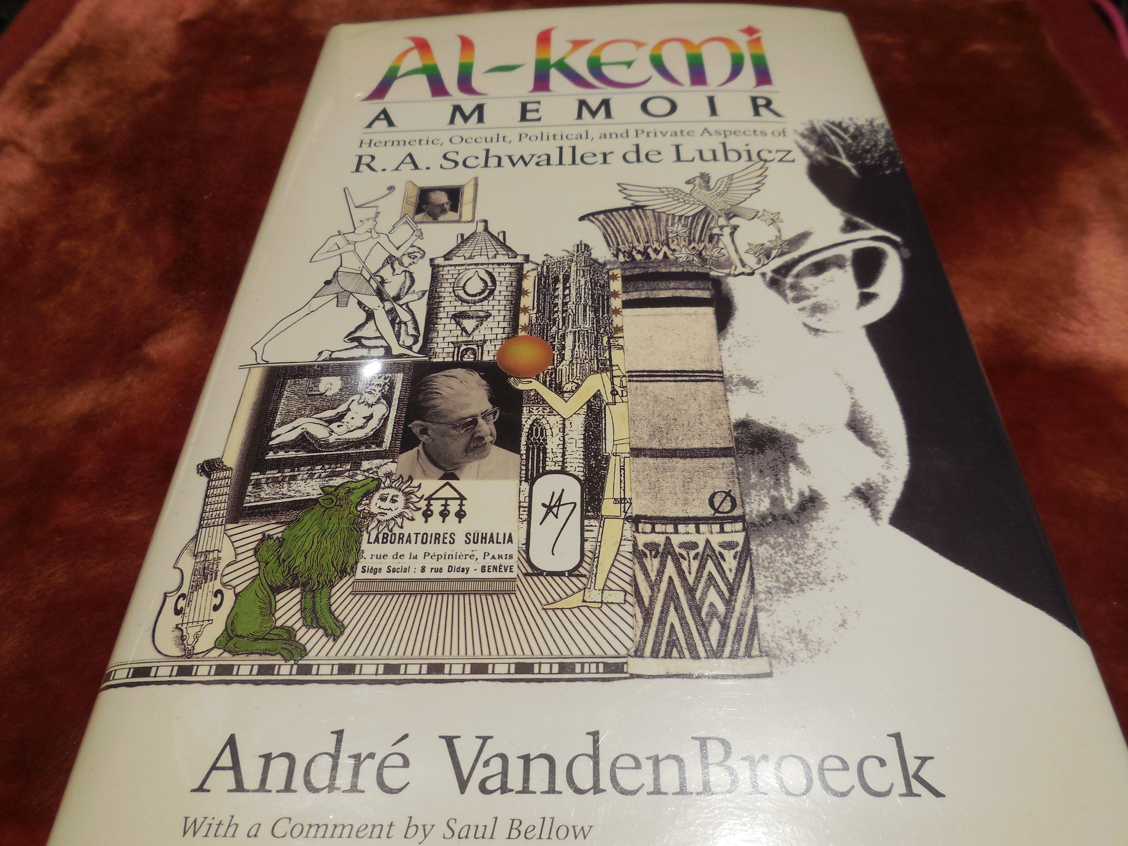 Image for Al-Kemi: Hermetic, Occult, Political and Private Aspects of R. A. Schwaller De Lubicz (Inner Traditions/Lindisfarne Press uroboros series)