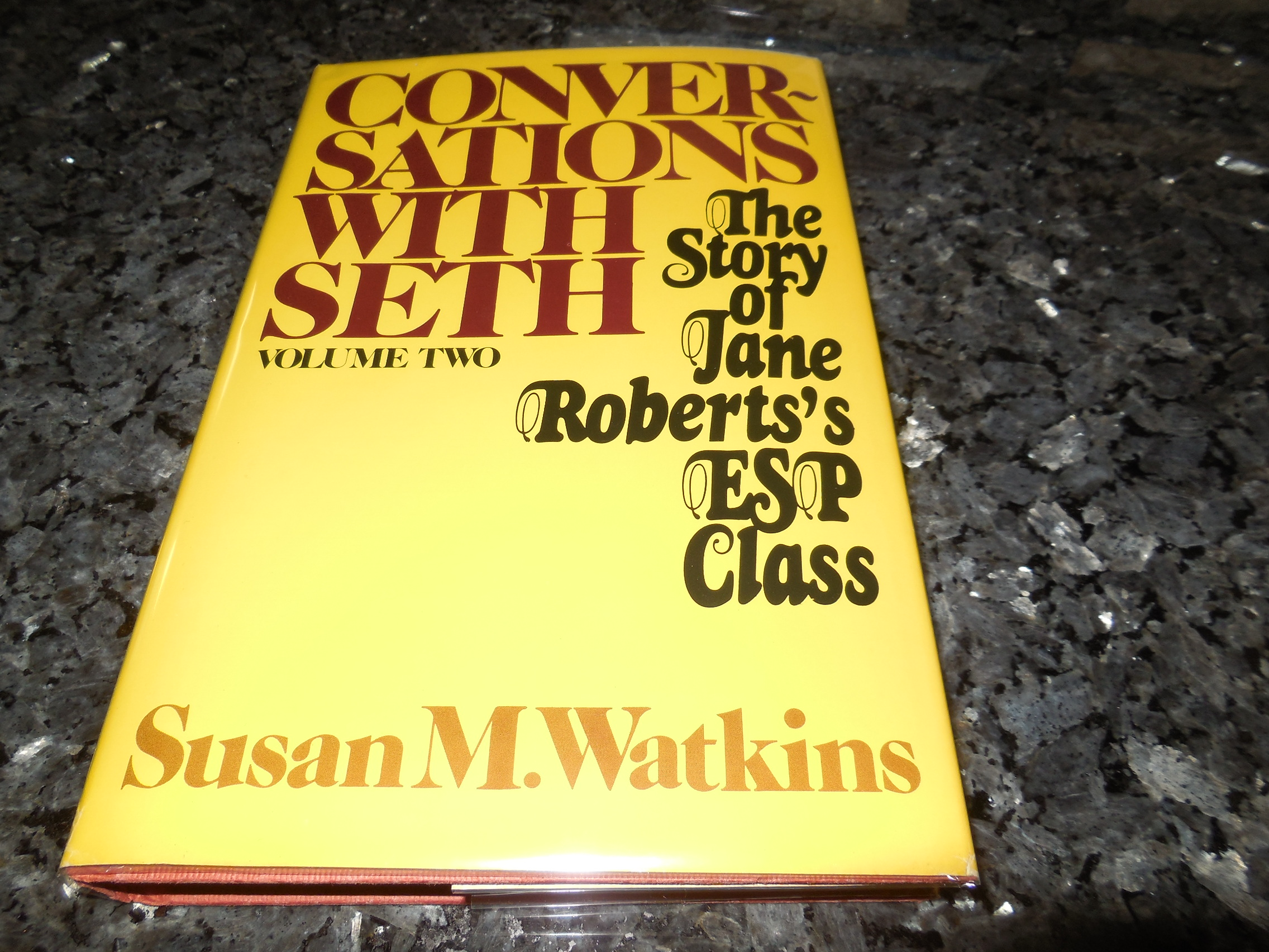 Image for Conversations With Seth: Volume Two - The Story of Jane Roberts's ESP Class