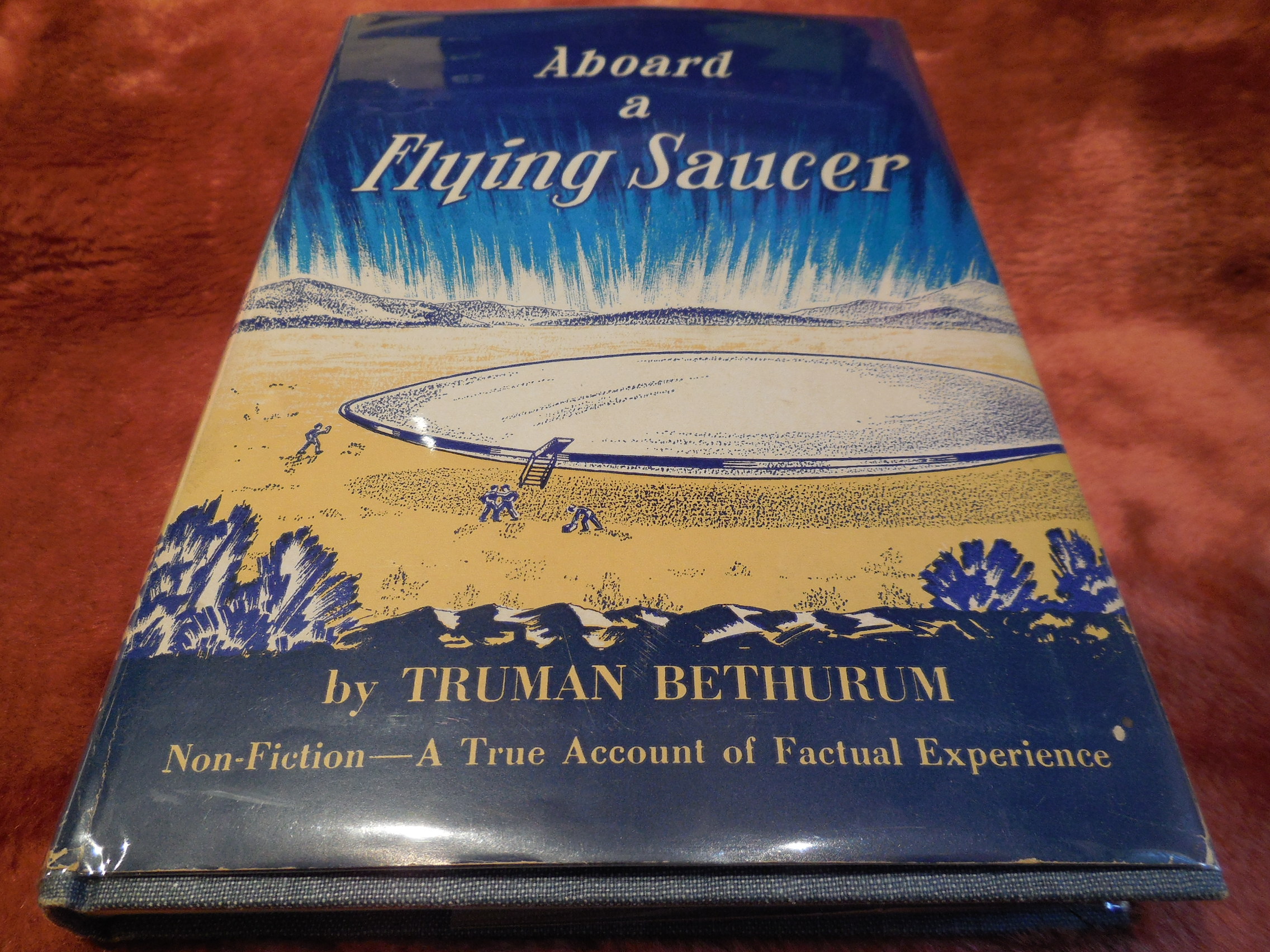 Image for Aboard a Flying Saucer (Non-Fiction) - A True Account of Personal Experience