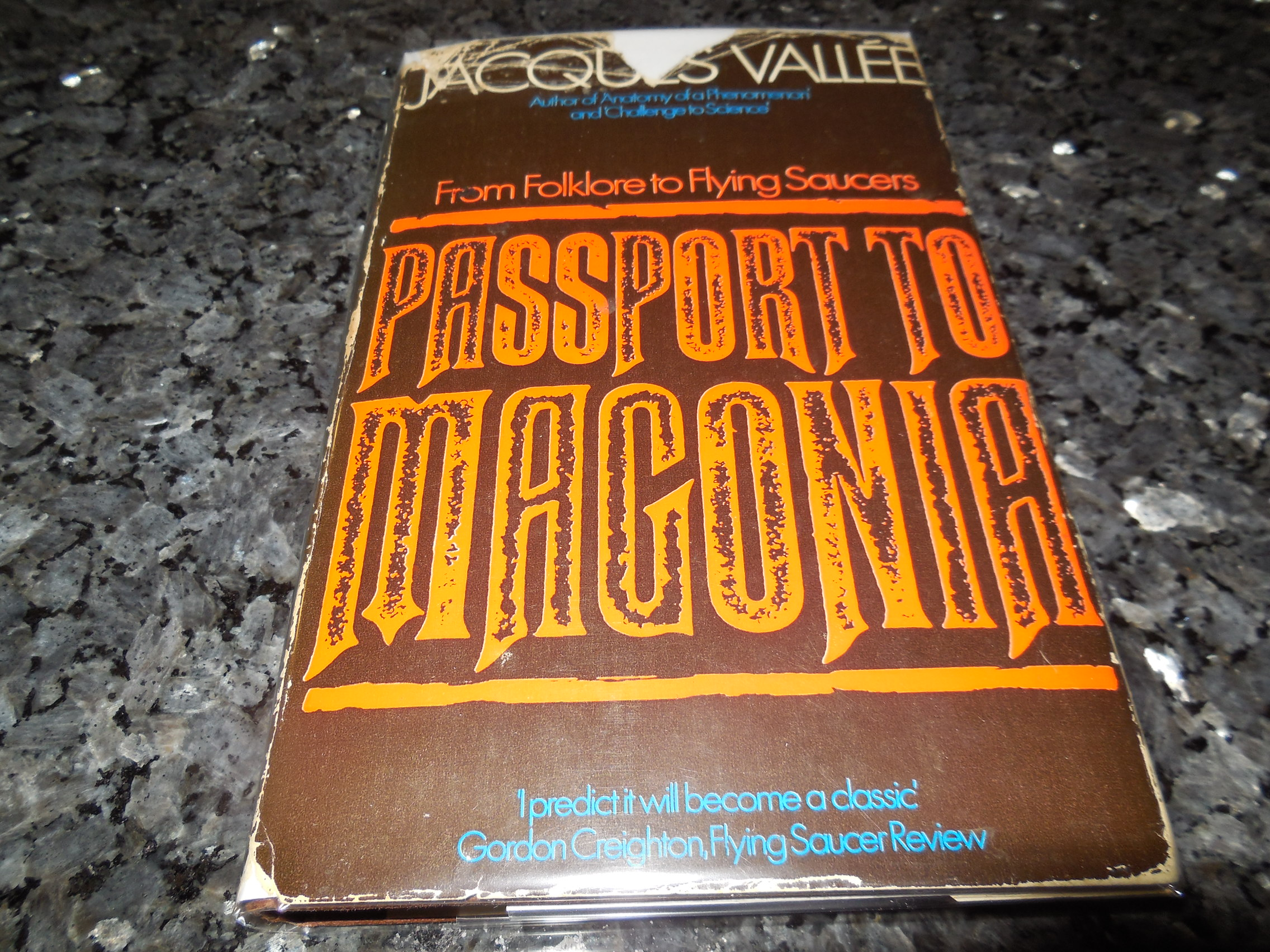 Image for Passport to Magonia : From Folklore to Flying Saucers