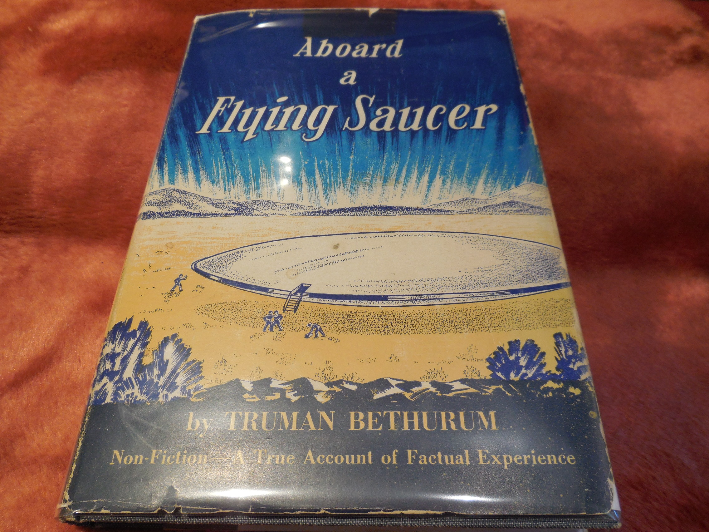 Image for Aboard a Flying Saucer - (Non-Fiction. A True Story of Personal Experience...)