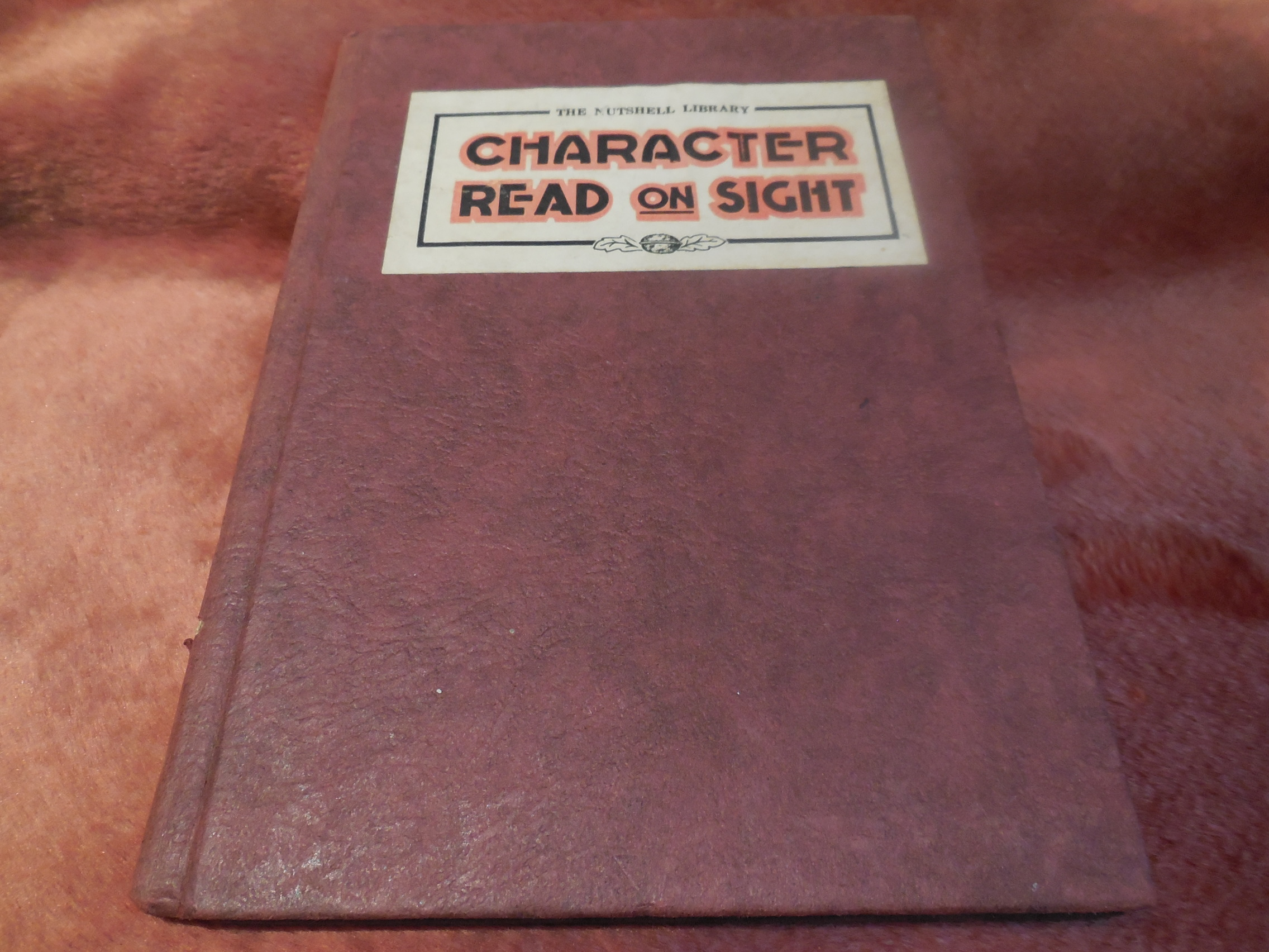 Image for Character Read on Sight - How To Understand Friends, Relatives, Business Associates and Casual Acquantances