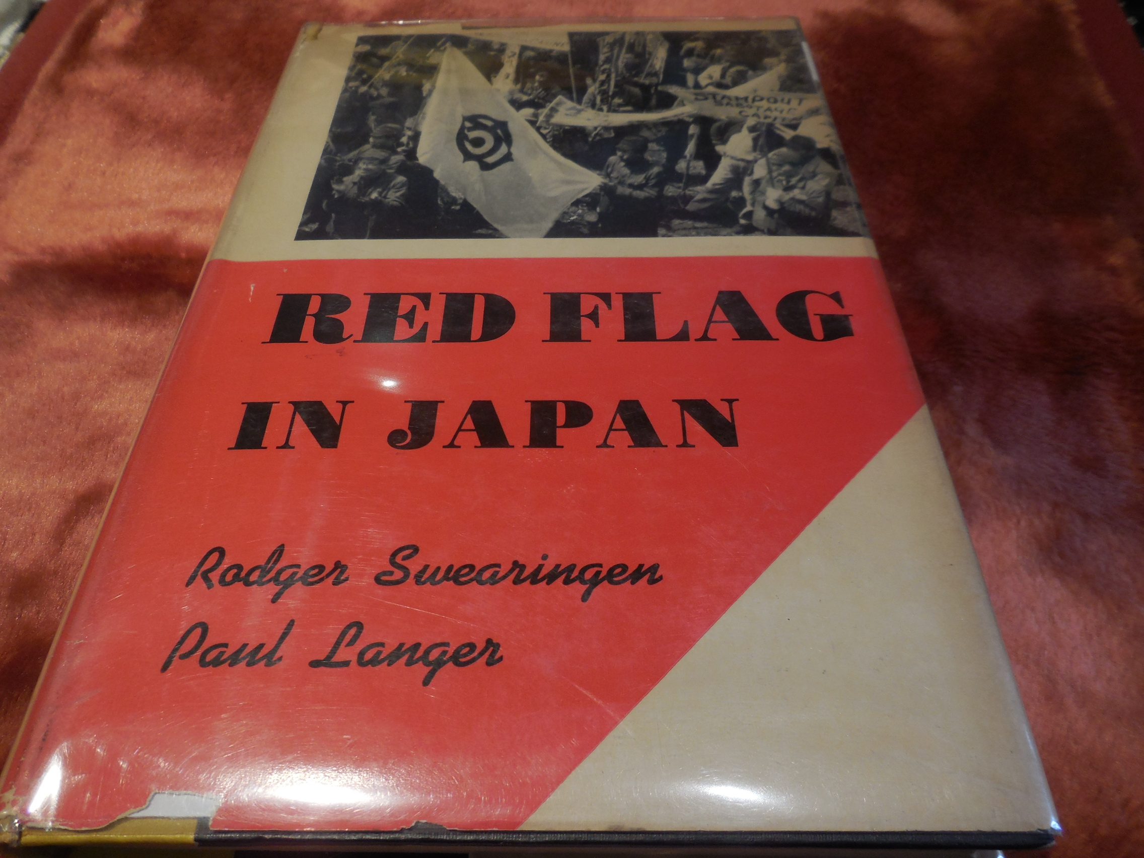Image for Red Flag in Japan - International Communism in Action 1919-1951