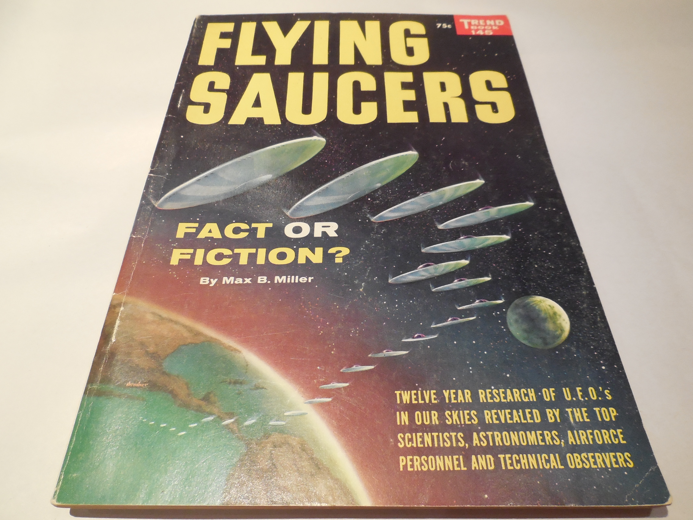 Image for Flying Saucers: Fact or Fiction?