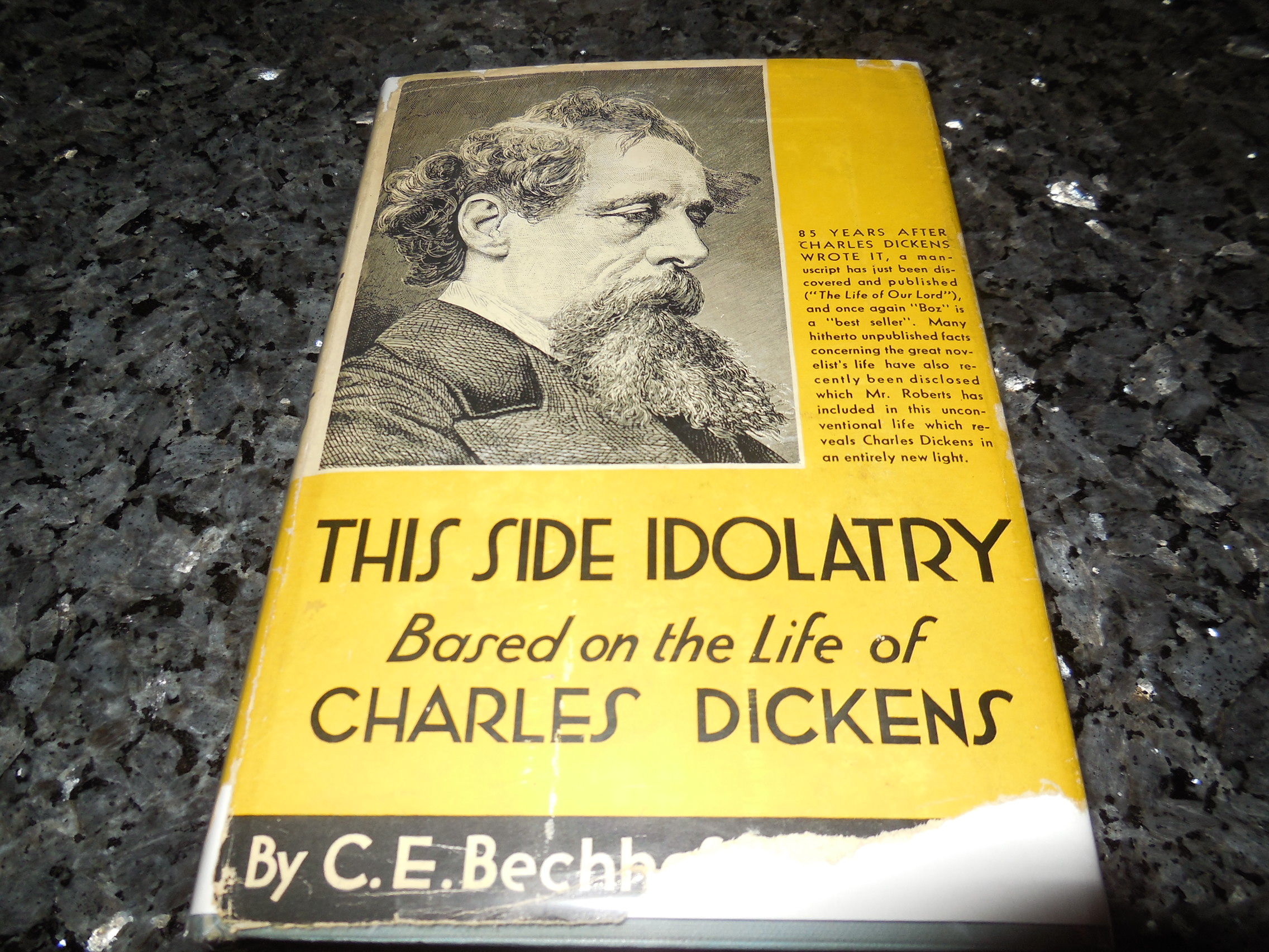 Image for This Side Idolatry - A Novel Based on the Life of Charles Dickens