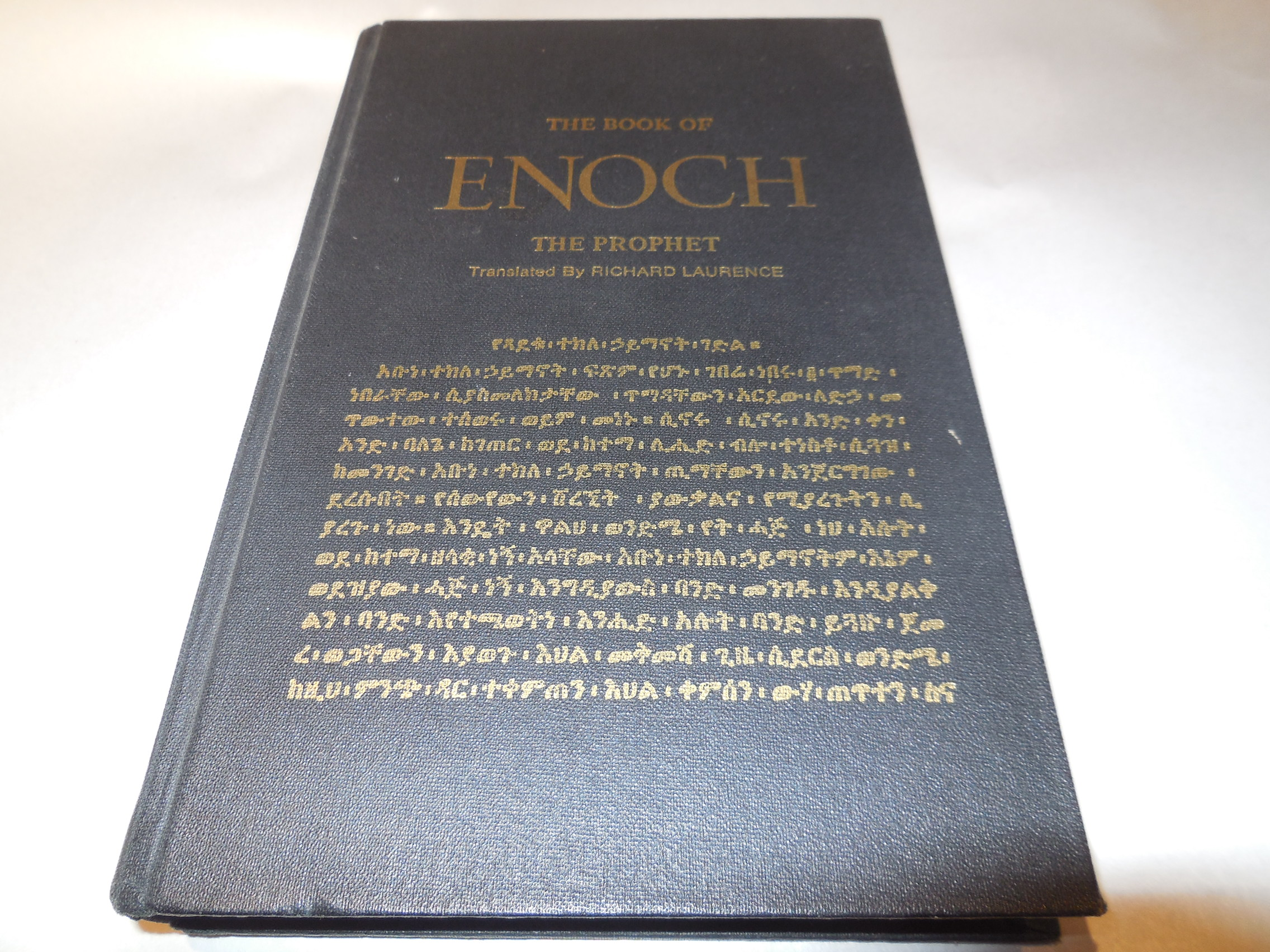 Image for The Book of  Enoch the Prophet