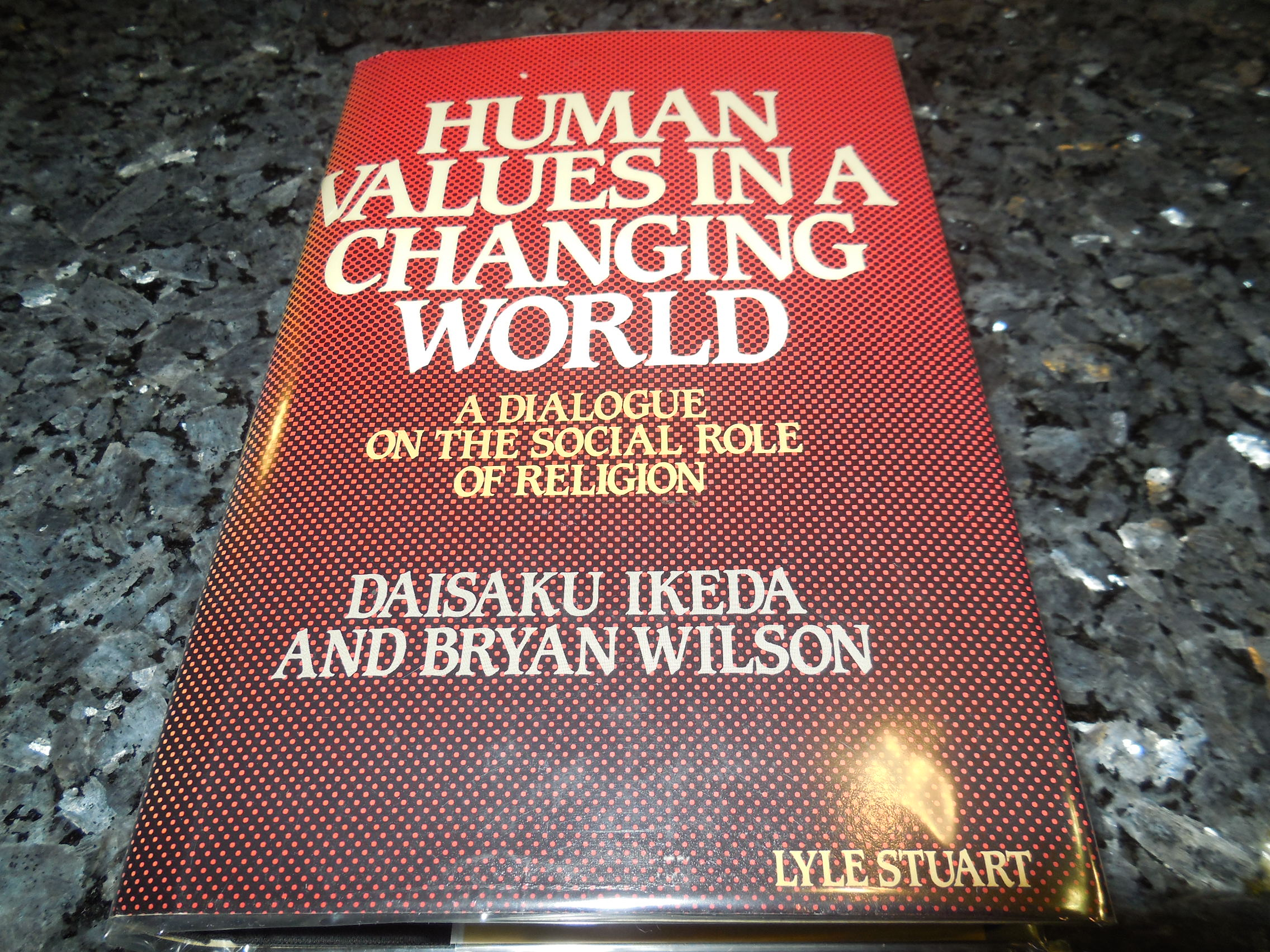 Image for Human Values in a Changing World: A Dialogue on the Social Role of Religion