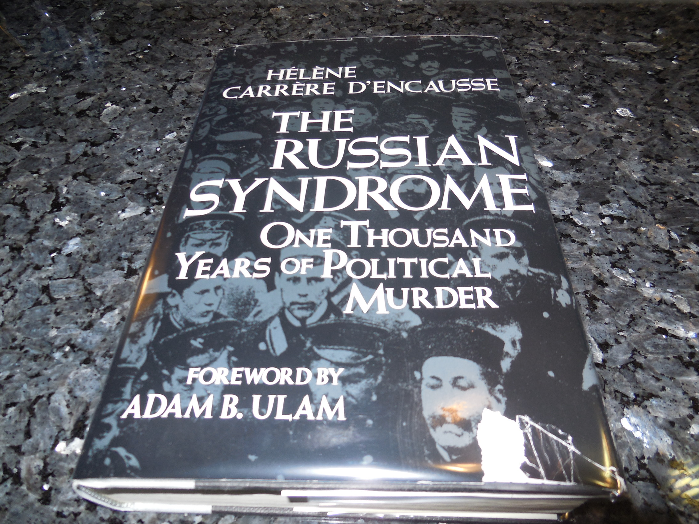 Image for The Russian Syndrome: One Thousand Years of Political Murder