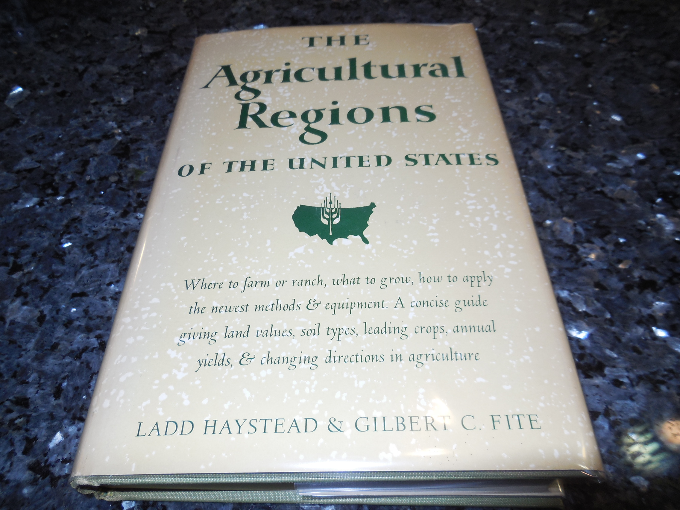 Image for The Agricultural Regions of the United States