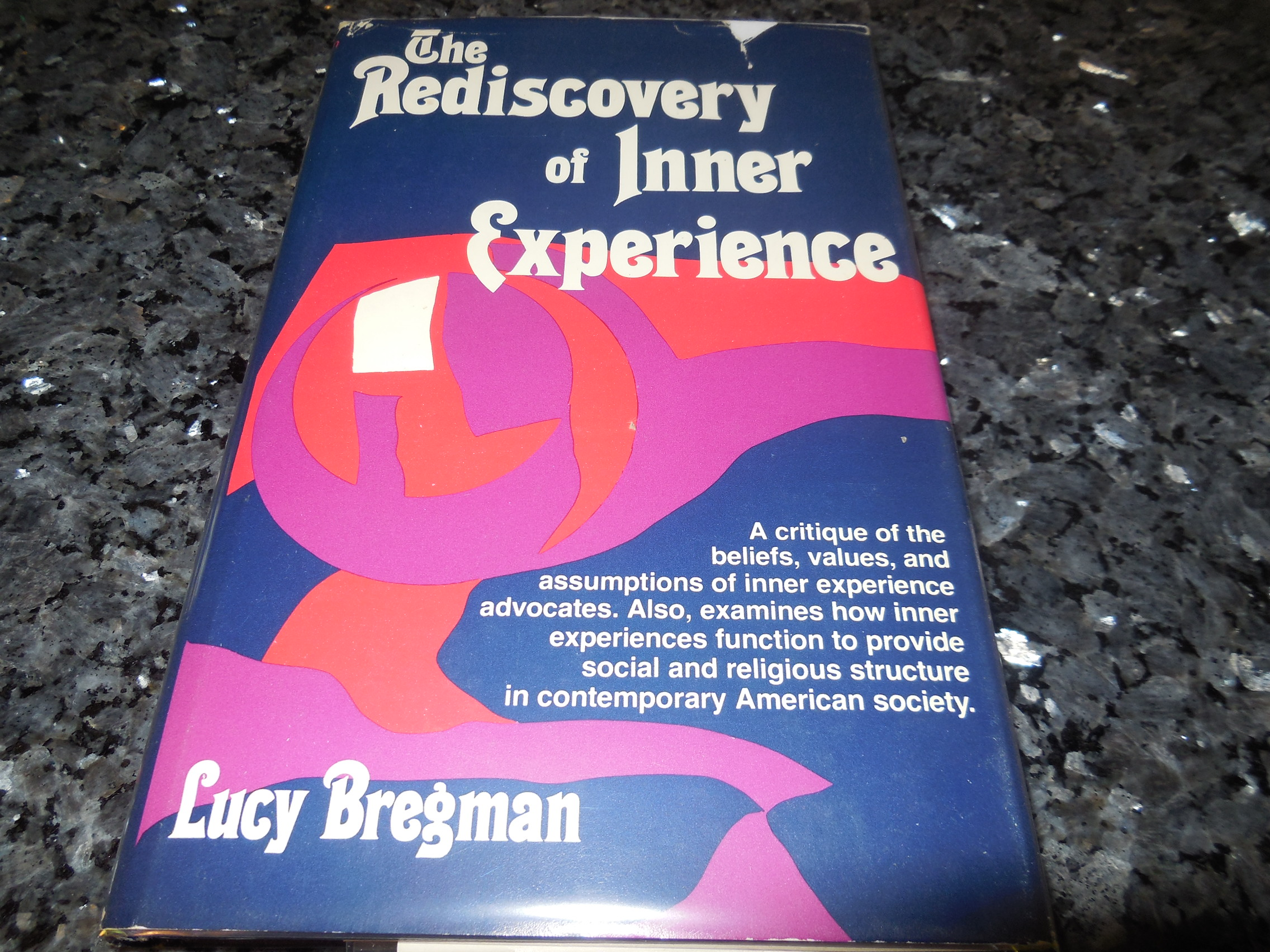 Image for Rediscovery of Inner Experience