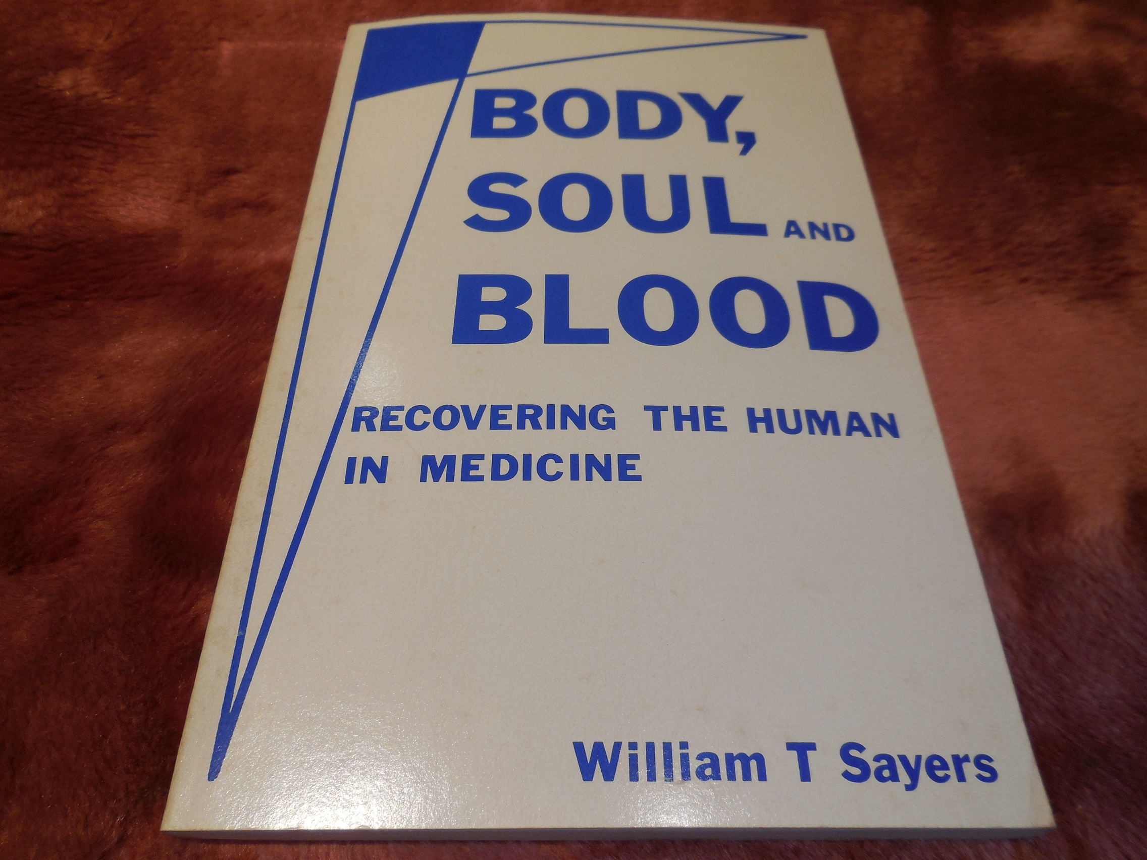 Image for Body Soul and Blood: Recovering the Human in Medicine