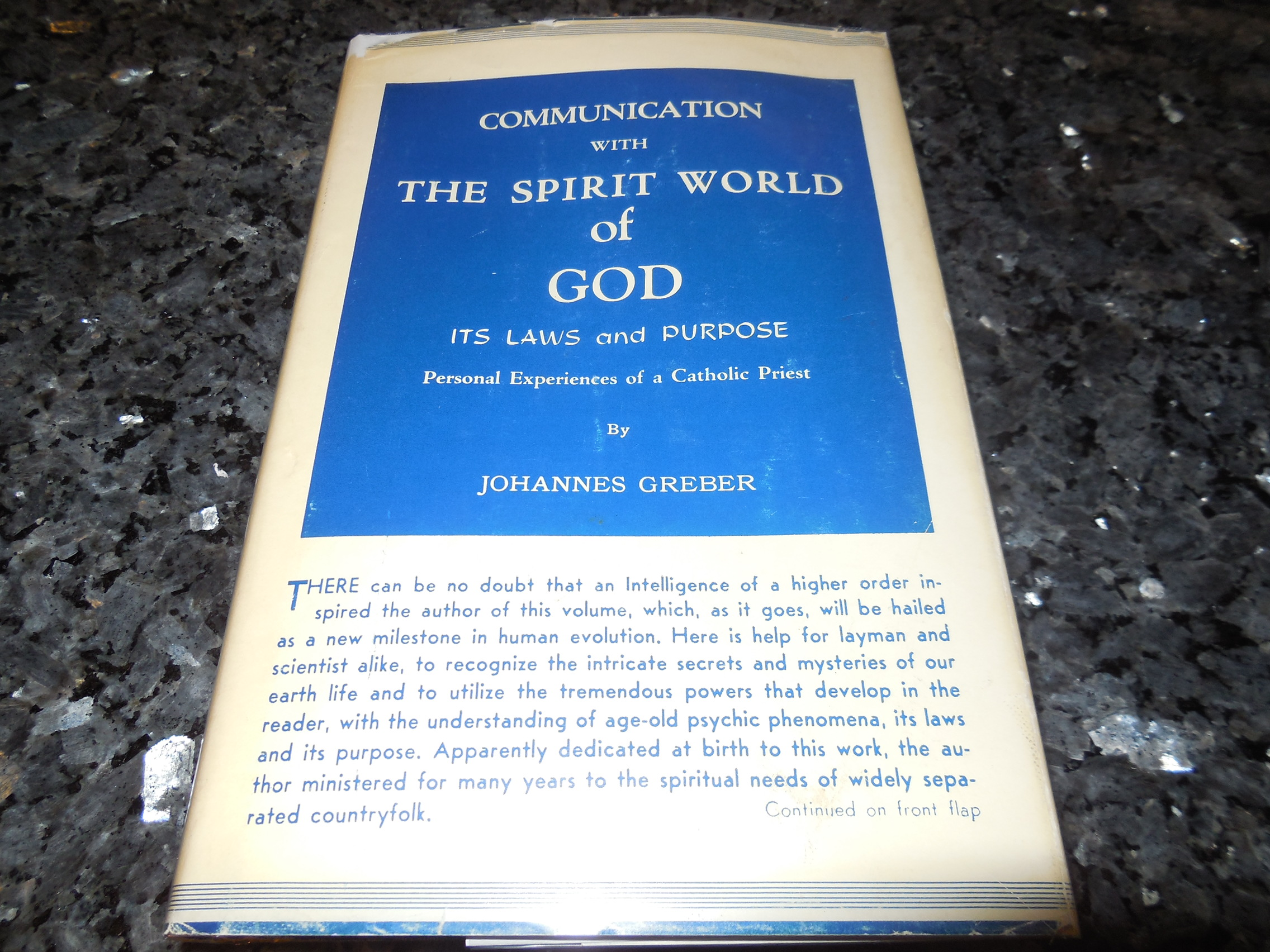 Image for Communication with the Spirit World of God - Its Laws and Purpose