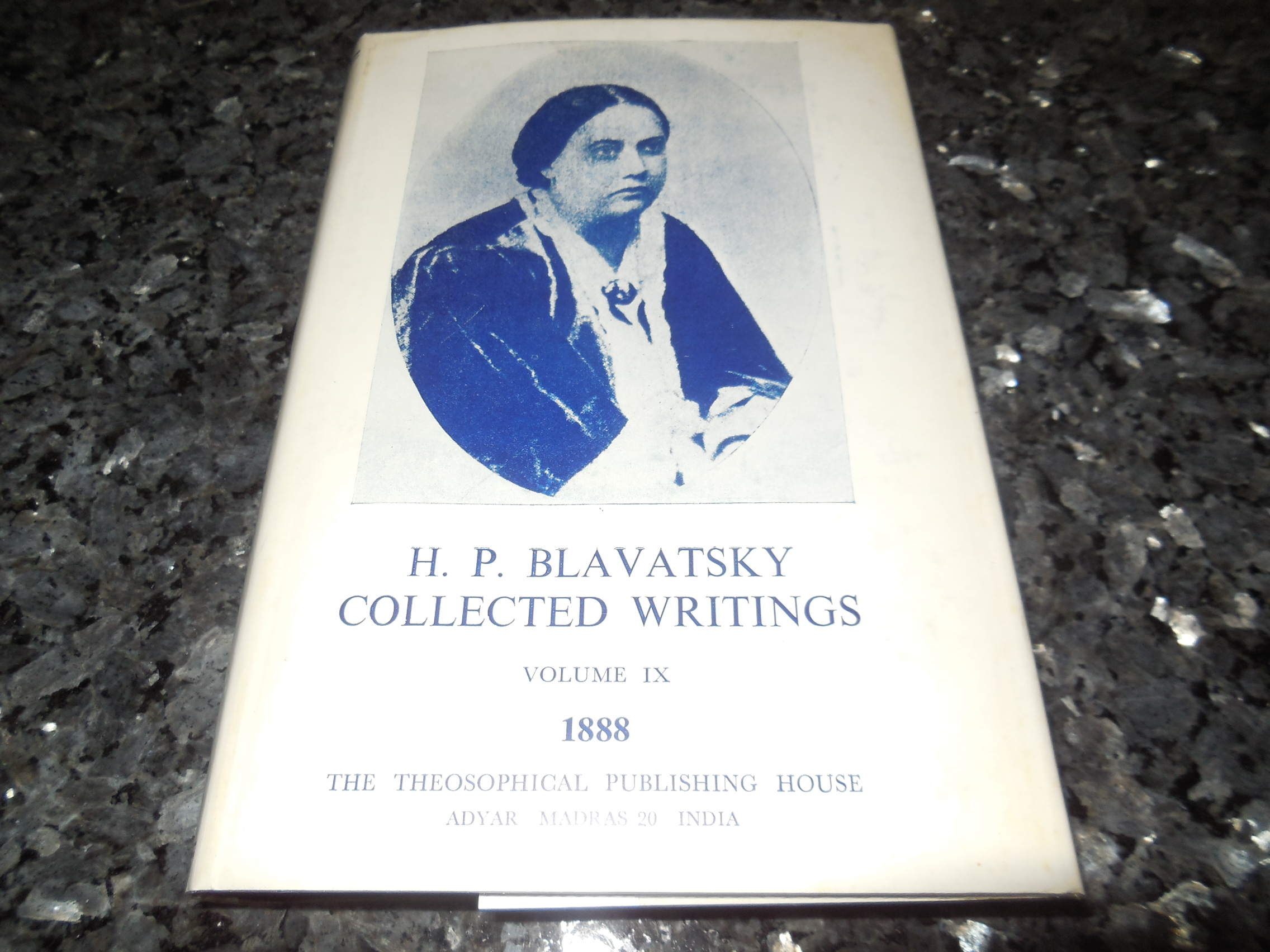 Image for H. P. Blavatsky Collected Writings, Volume IX 1888