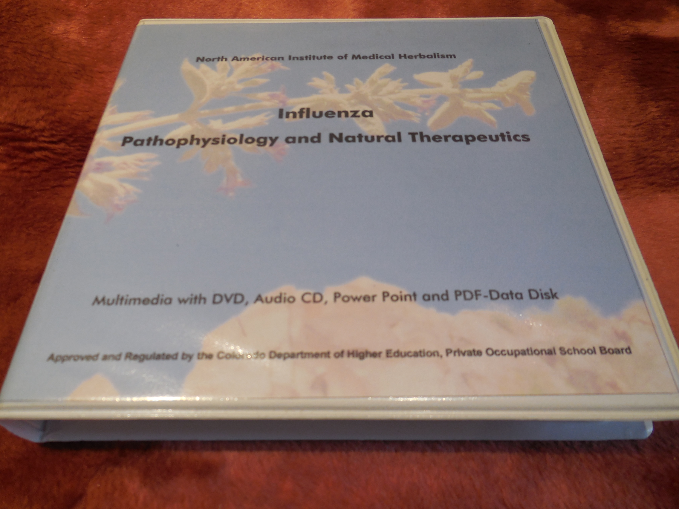 Image for Influenza: Pathophysiology and Natural Therapeutics (Multimedia with DVD, Audio CD, Power Point and PDF-Data Disk)