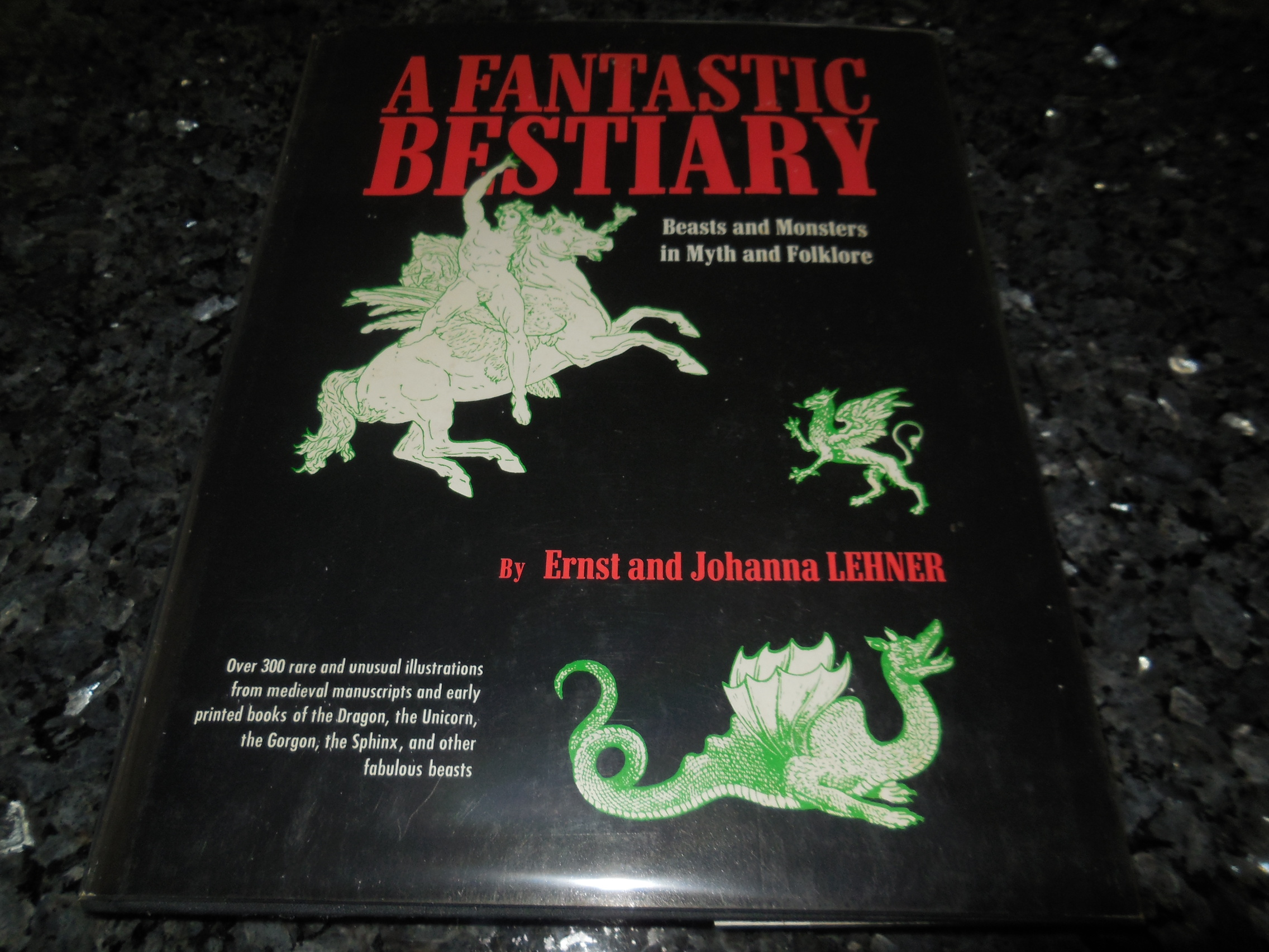 Image for A Fantastic Bestiary - Beasts and Monsters in Myth and Folklore