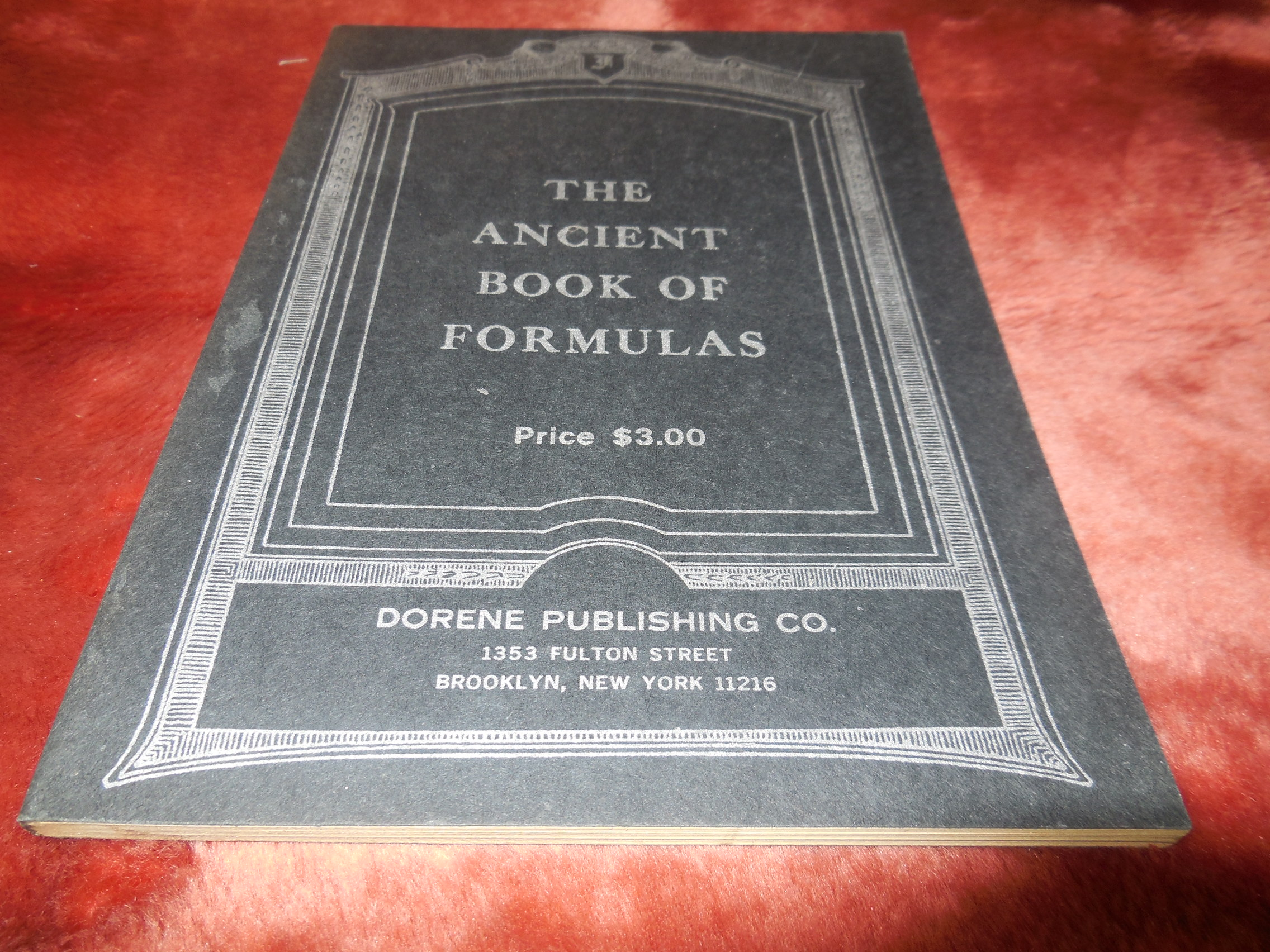Image for The Ancient Book of Formulas