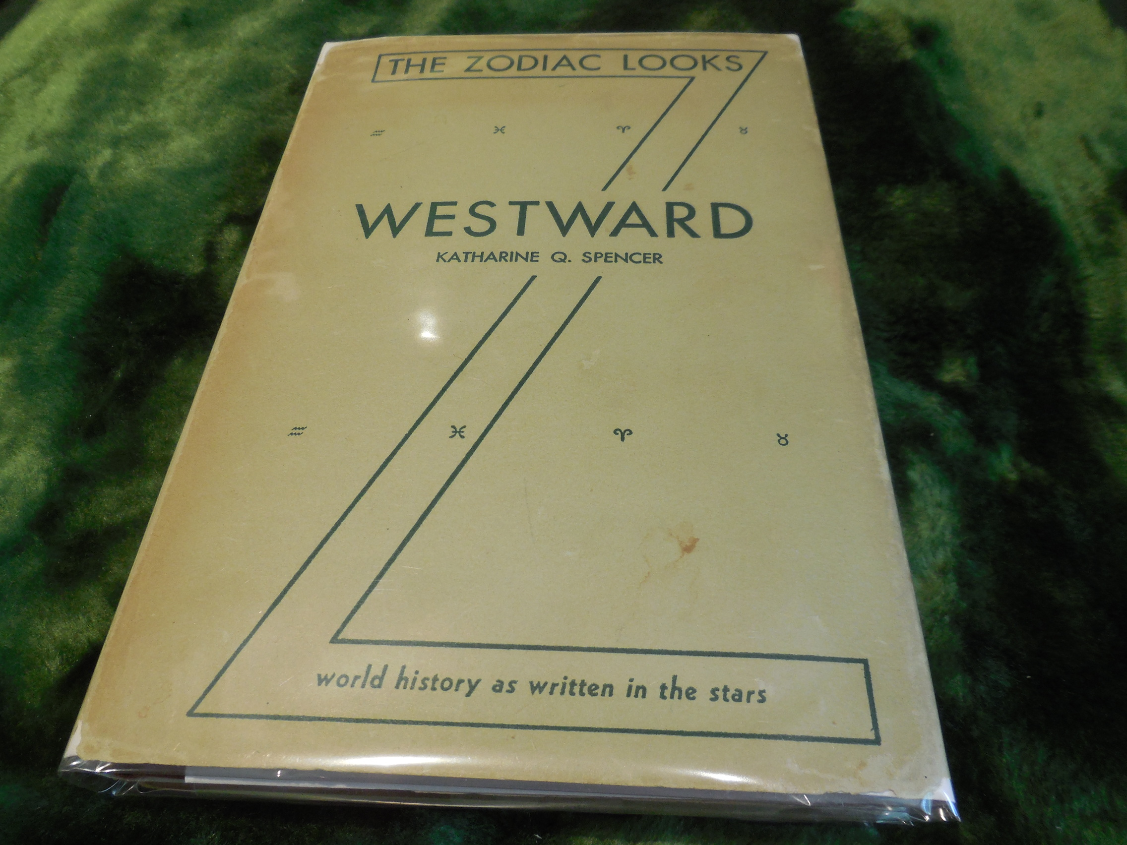 Image for The Zodiac Looks Westward - A Complete History of the World as Written in the Stars