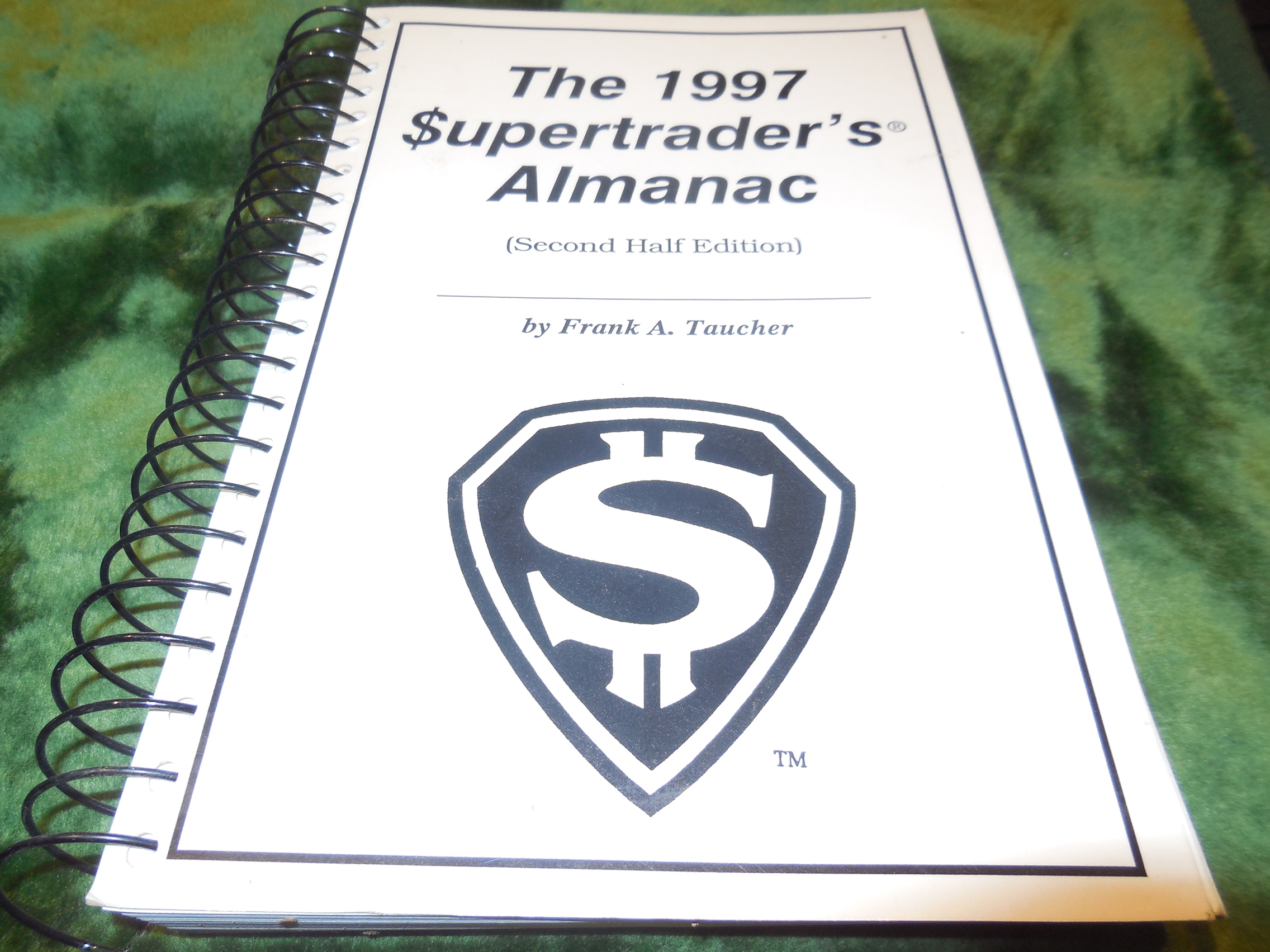 Image for The 1997 Supertrader's Almanac (Second Half Edition)