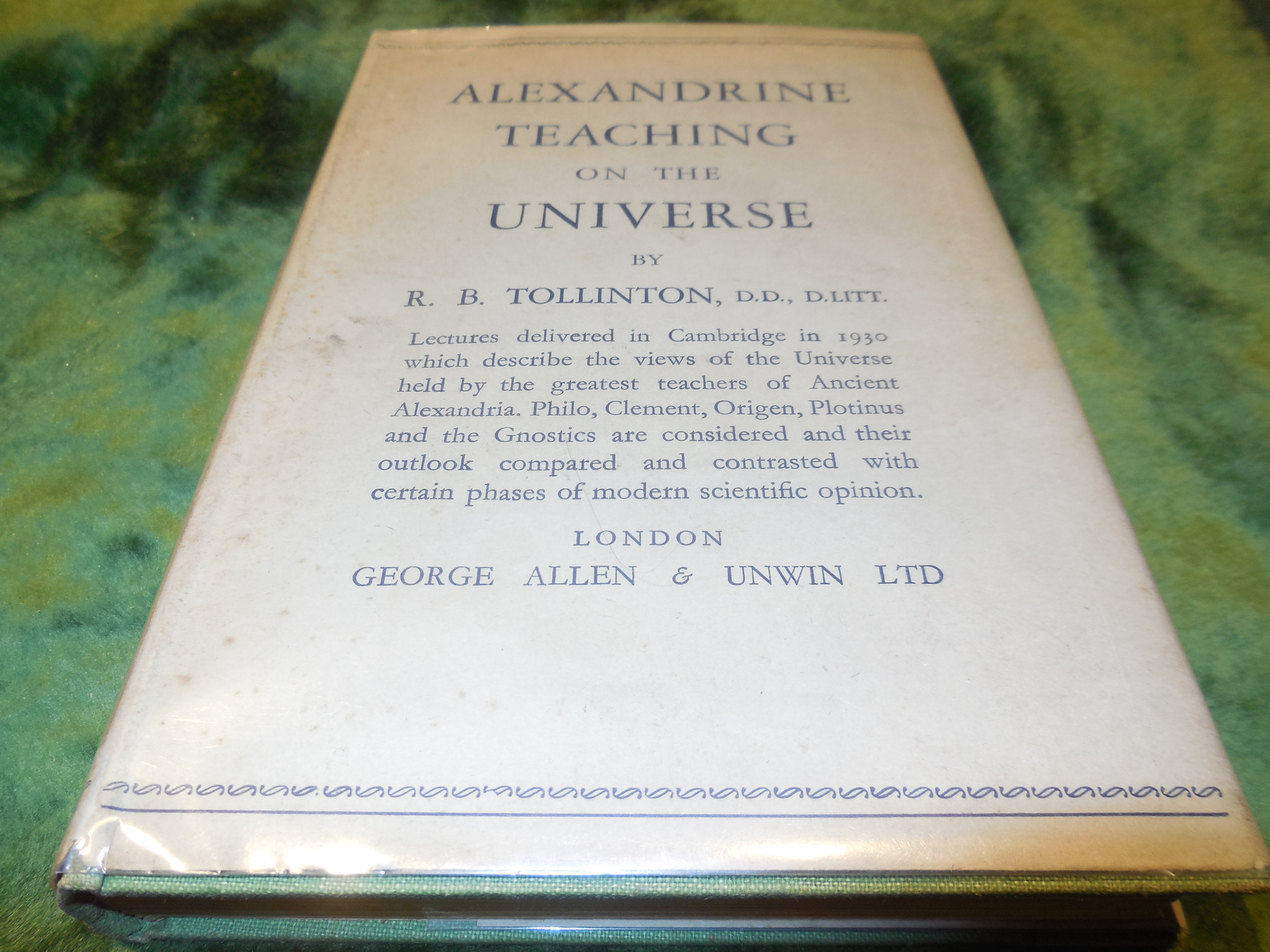 Image for Alexandrine Teaching on the Universe - Four Lectures