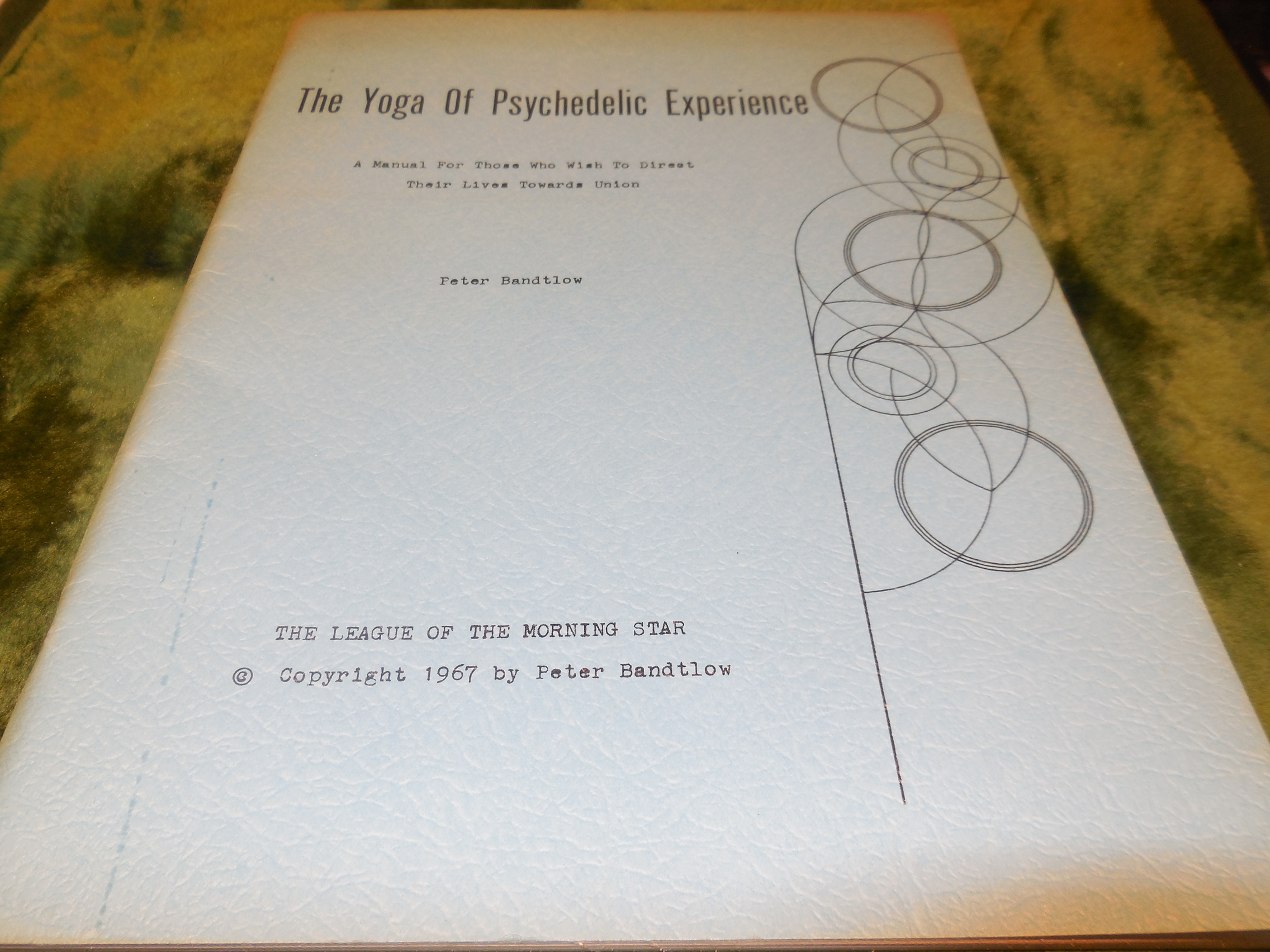 Image for The Yoga of Psychedelic Experience - A Manual for Those Who Wish to Direct Their Lives Towards Union