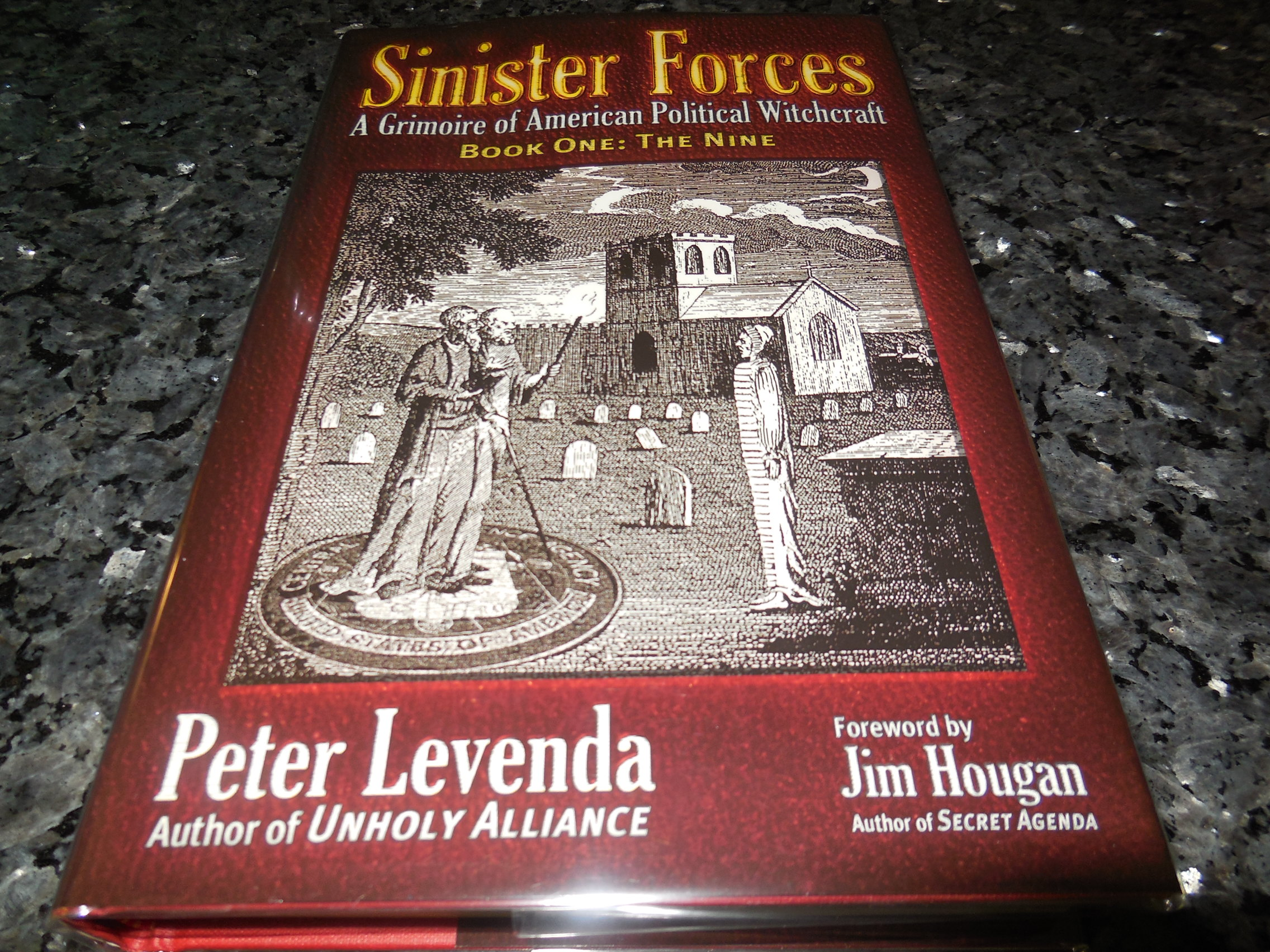 Image for Sinister Forces-The Nine: A Grimoire of American Political Witchcraft (Sinister Forces: A Grimoire of American Political Witchcraft) (Bk. 1)
