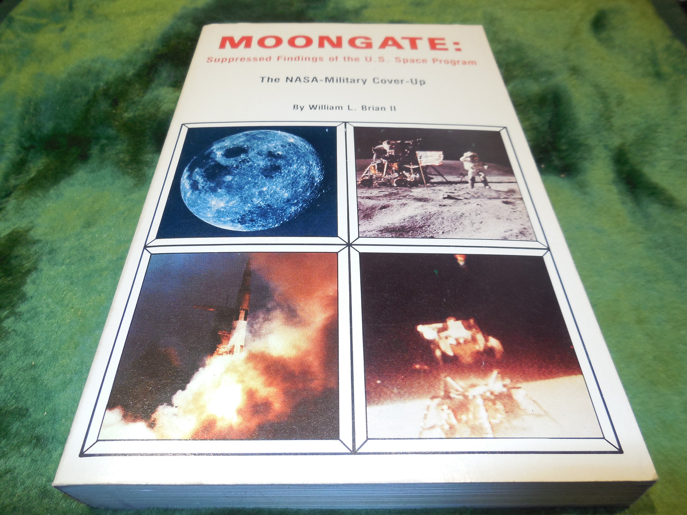 Image for Moongate: Suppressed Findings of the U.S. Space Program - The NASA-Military Cover-Up