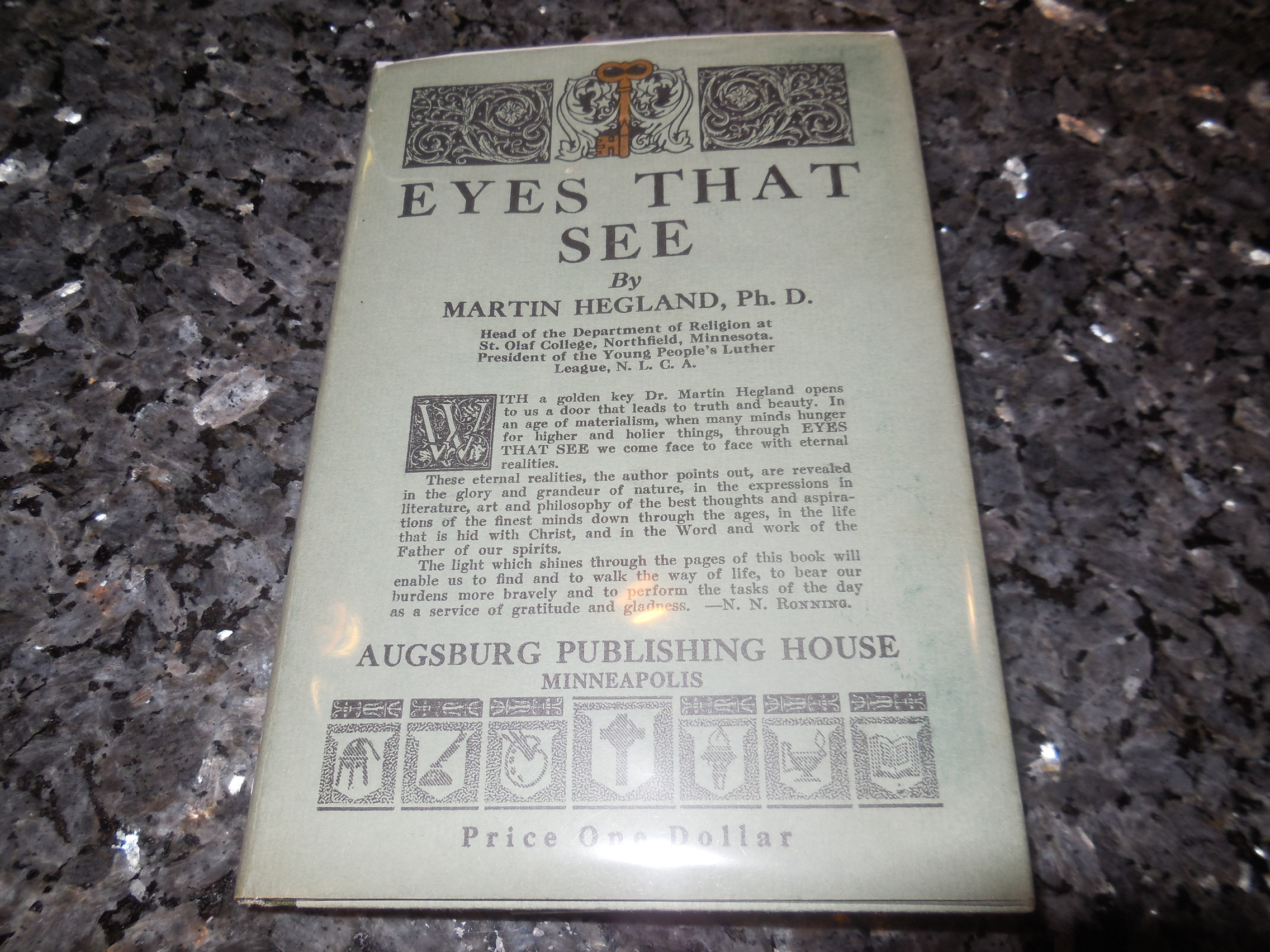 Image for Eyes That See
