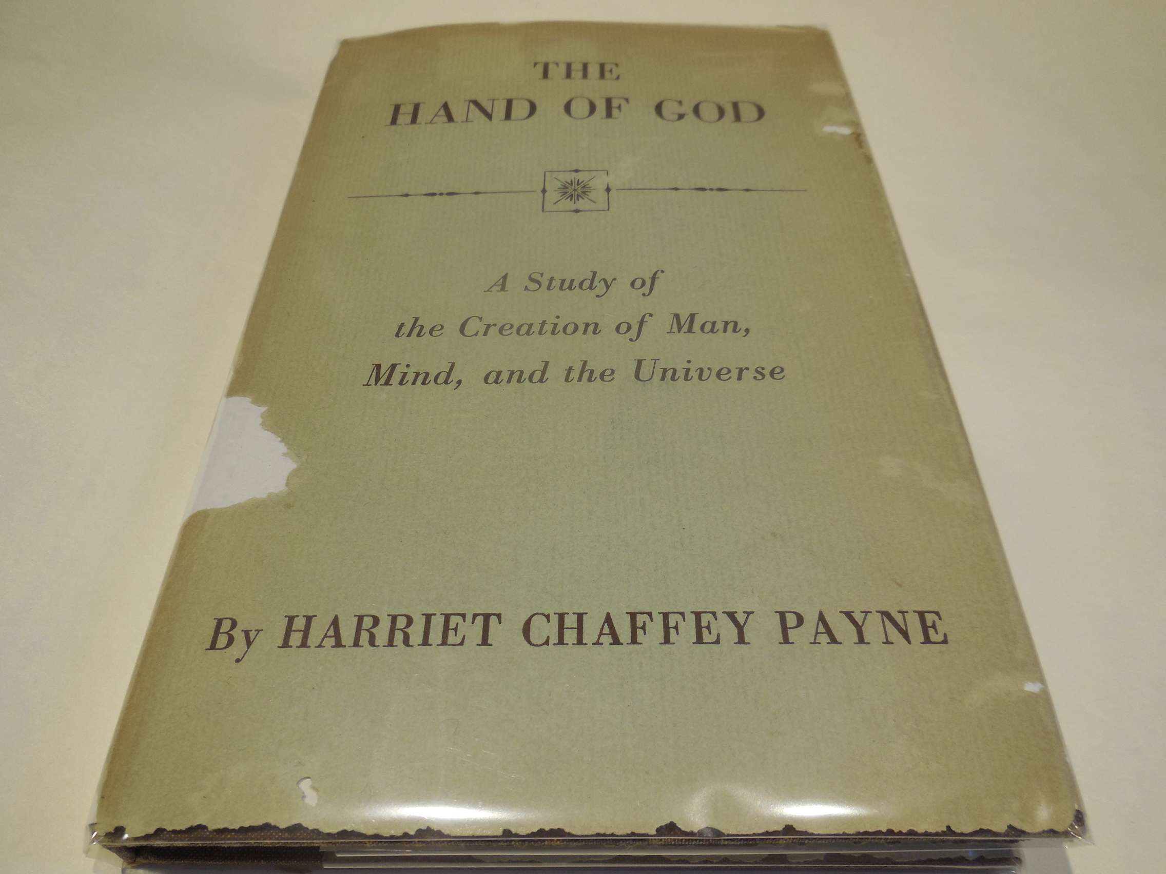 Image for The Hand of God  - A Study of the Creation of Man, Mind and the Universe