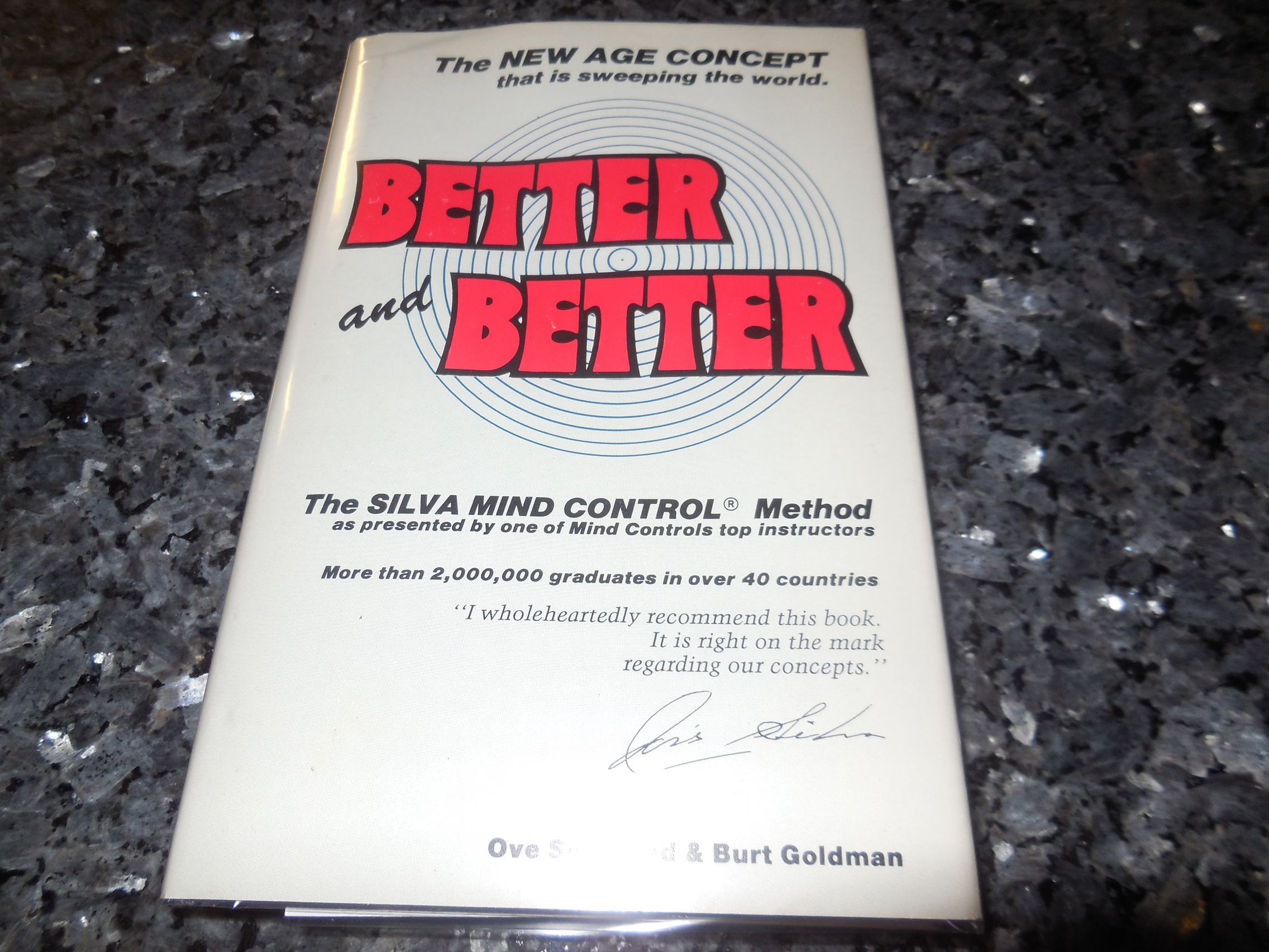 Image for Better and Better - The Silva Mind Control Method