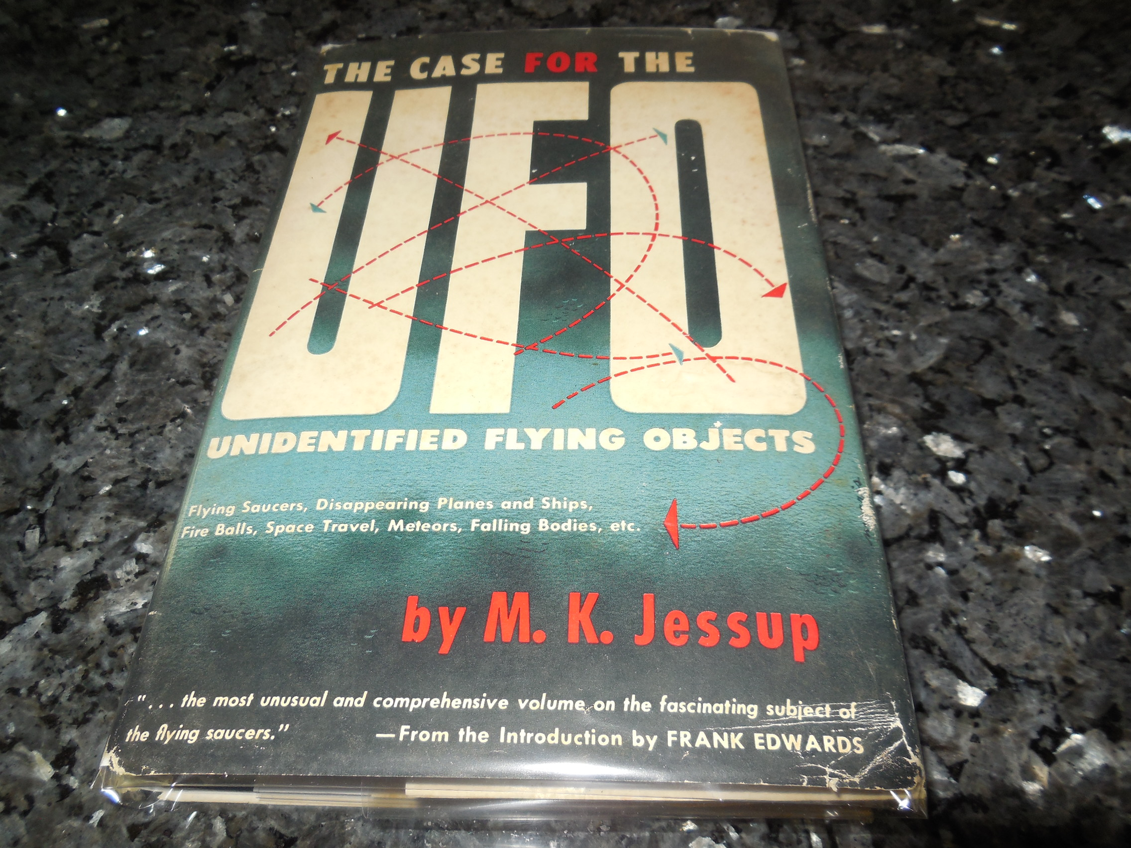 Image for The Case for the UFO - Unidentified Flying Objects