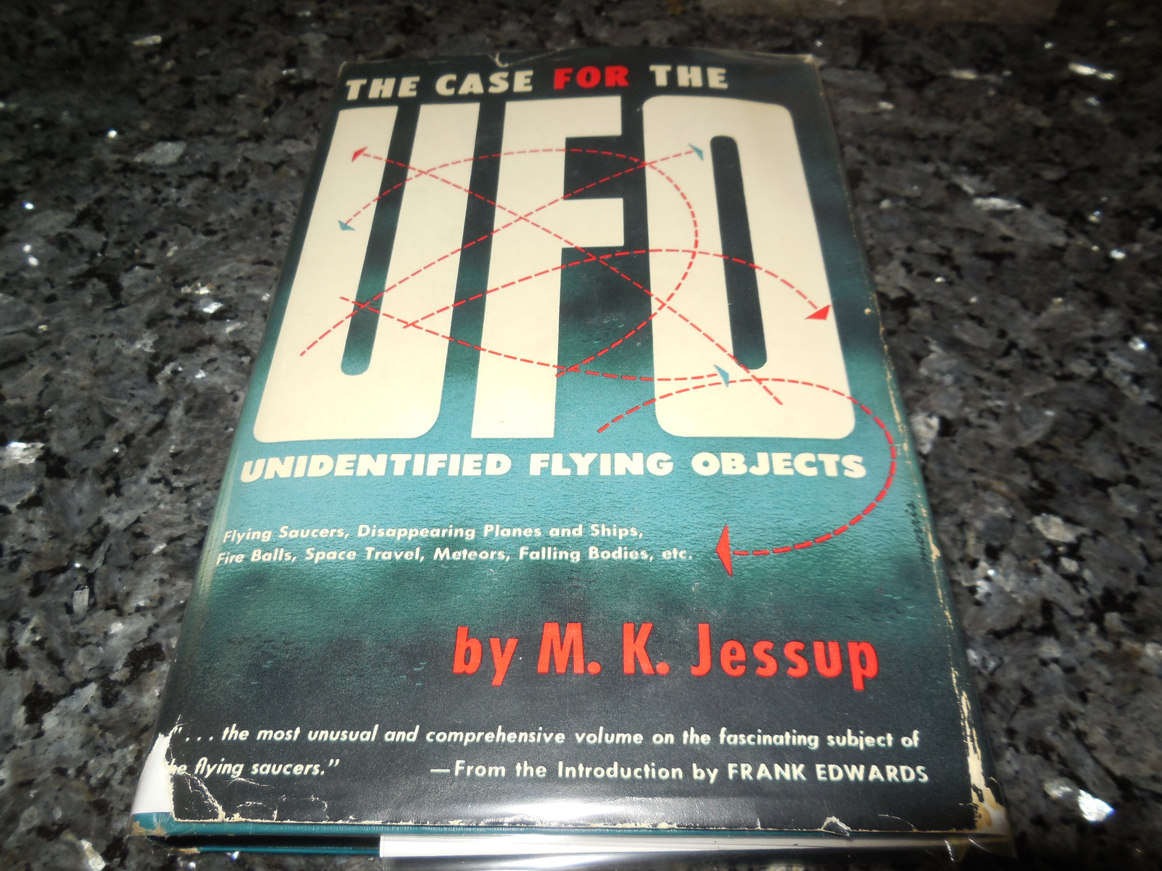Image for Case for the UFO - Unidentified  Flying Saucers