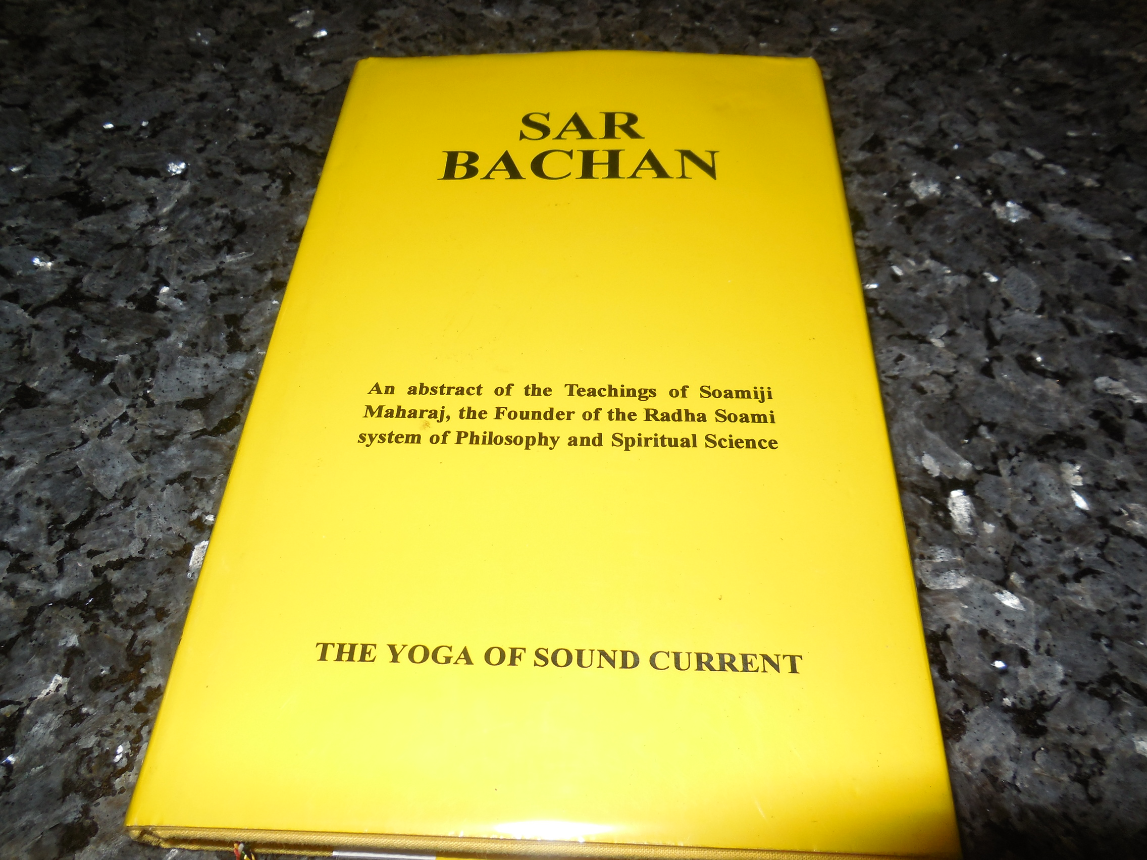 Image for Sar Bachan - The Yoga Of Sound Current