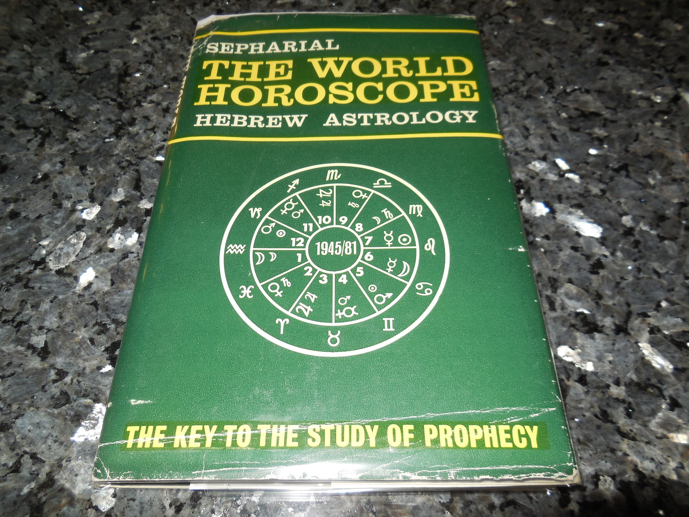 Image for THE WORLD HOROSCOPE: Hebrew Astrology