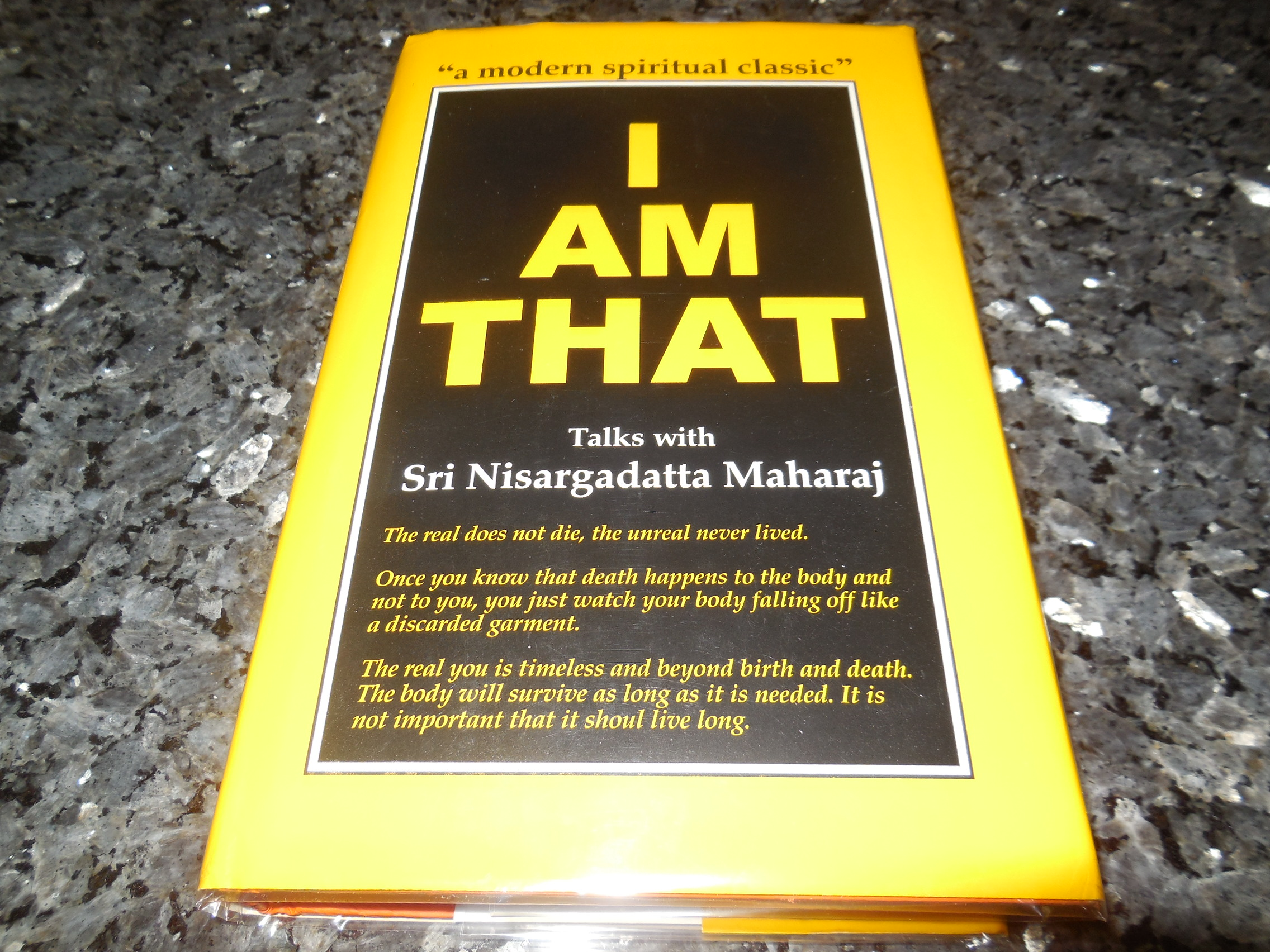 Image for I Am That: Talks with Sri Nisargadatta Maharaj