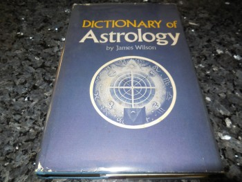 Image for A Complete Dictionary of Astrology